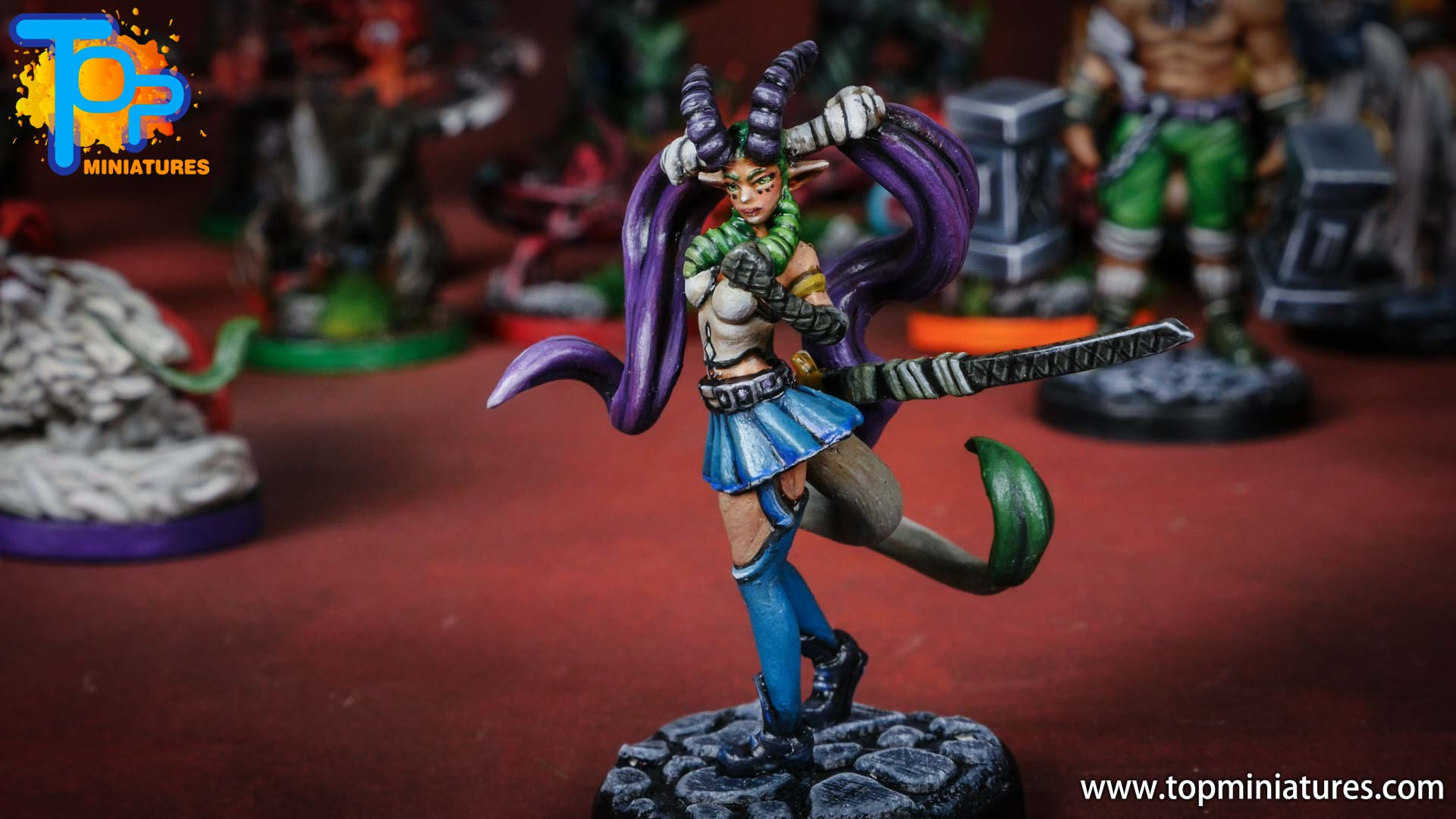 middara painted miniatures nightingale (1)