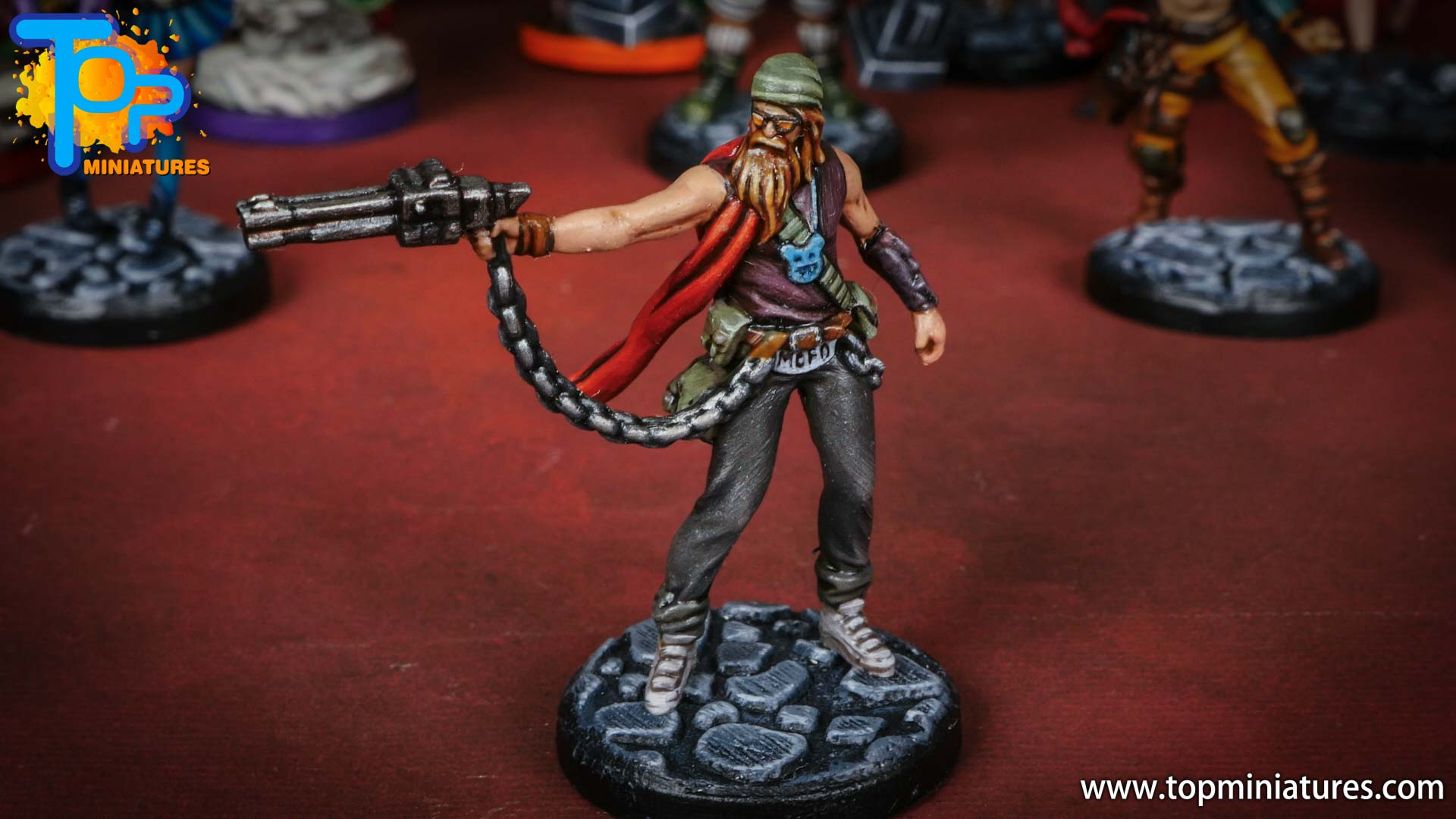 middara painted miniatures padriac (1)