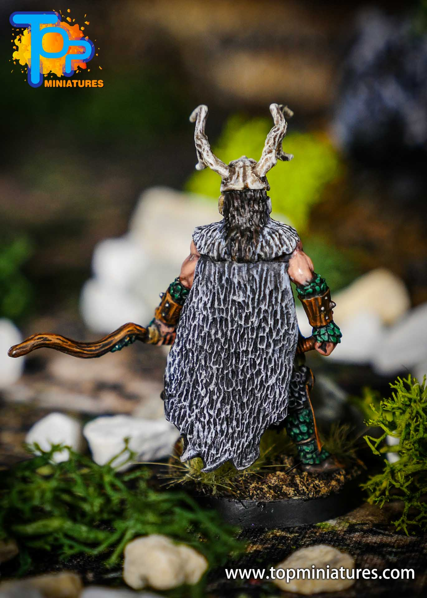 pathfinder kingmaker stag lord painted miniature (3)