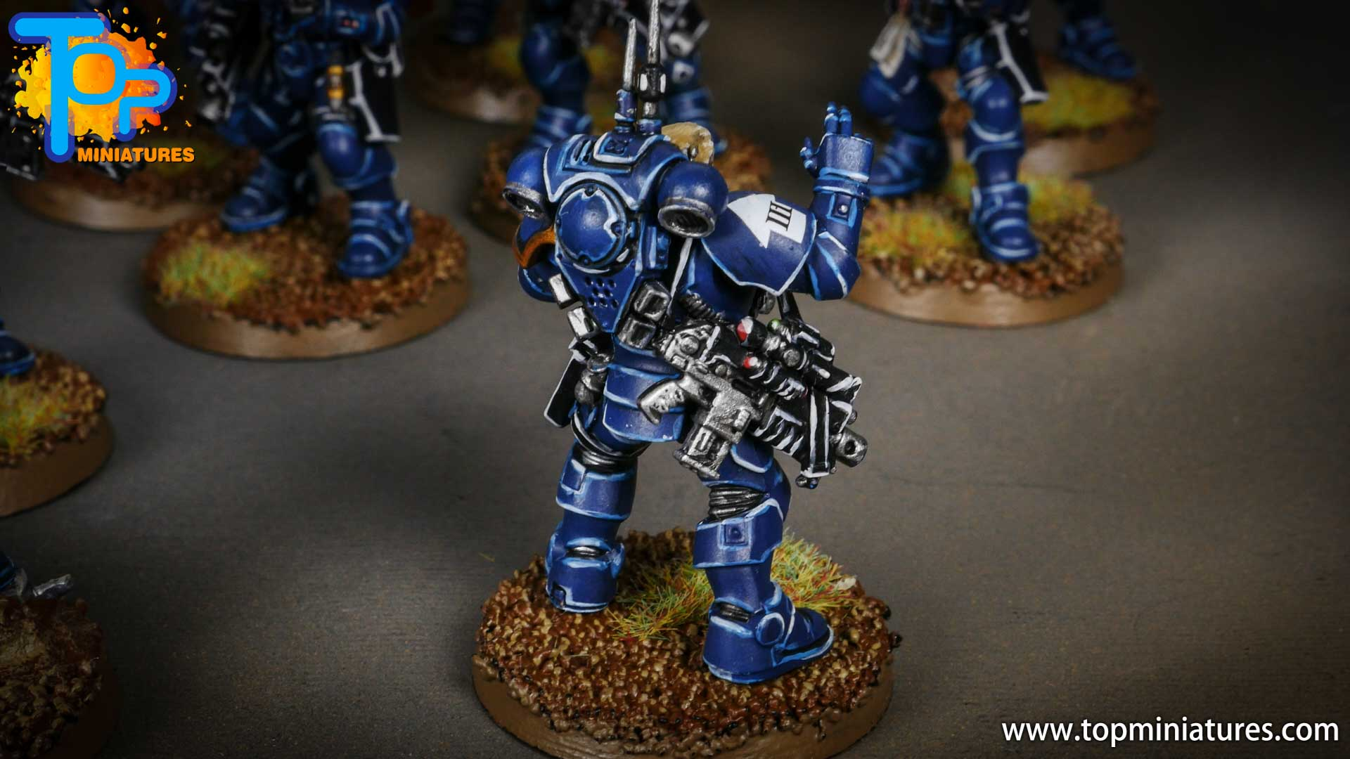 primaris ultramarines shadowspear infiltrator squad (10)