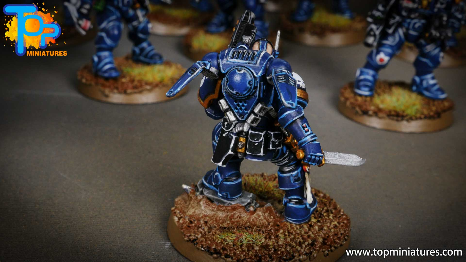 primaris ultramarines shadowspear infiltrator squad (11)