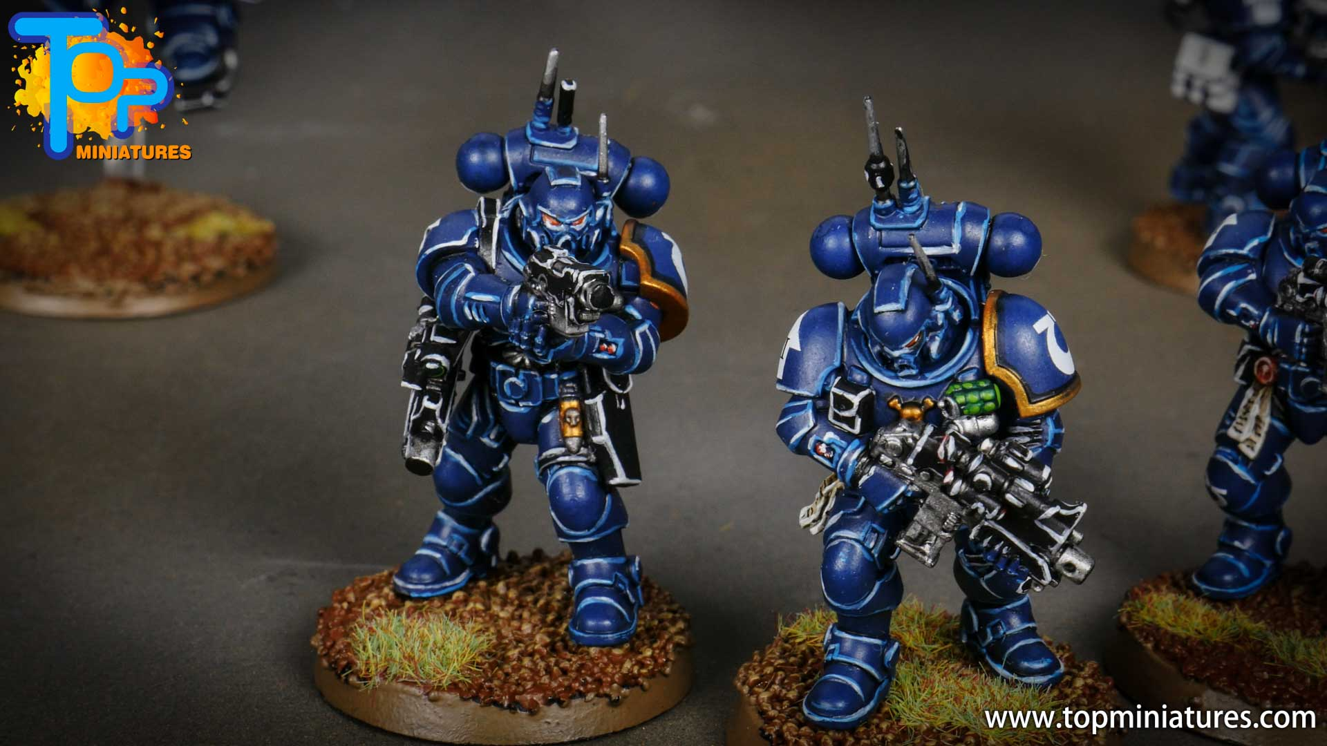 primaris ultramarines shadowspear infiltrator squad (4)