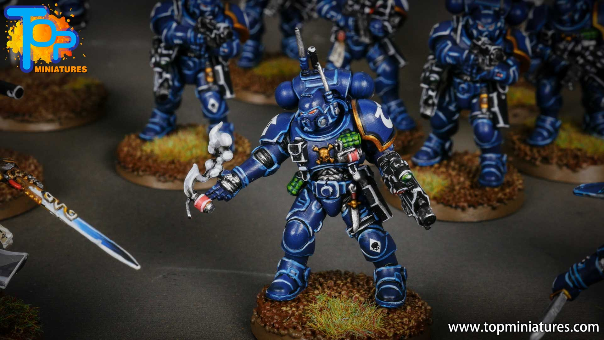 primaris ultramarines shadowspear infiltrator squad (7)