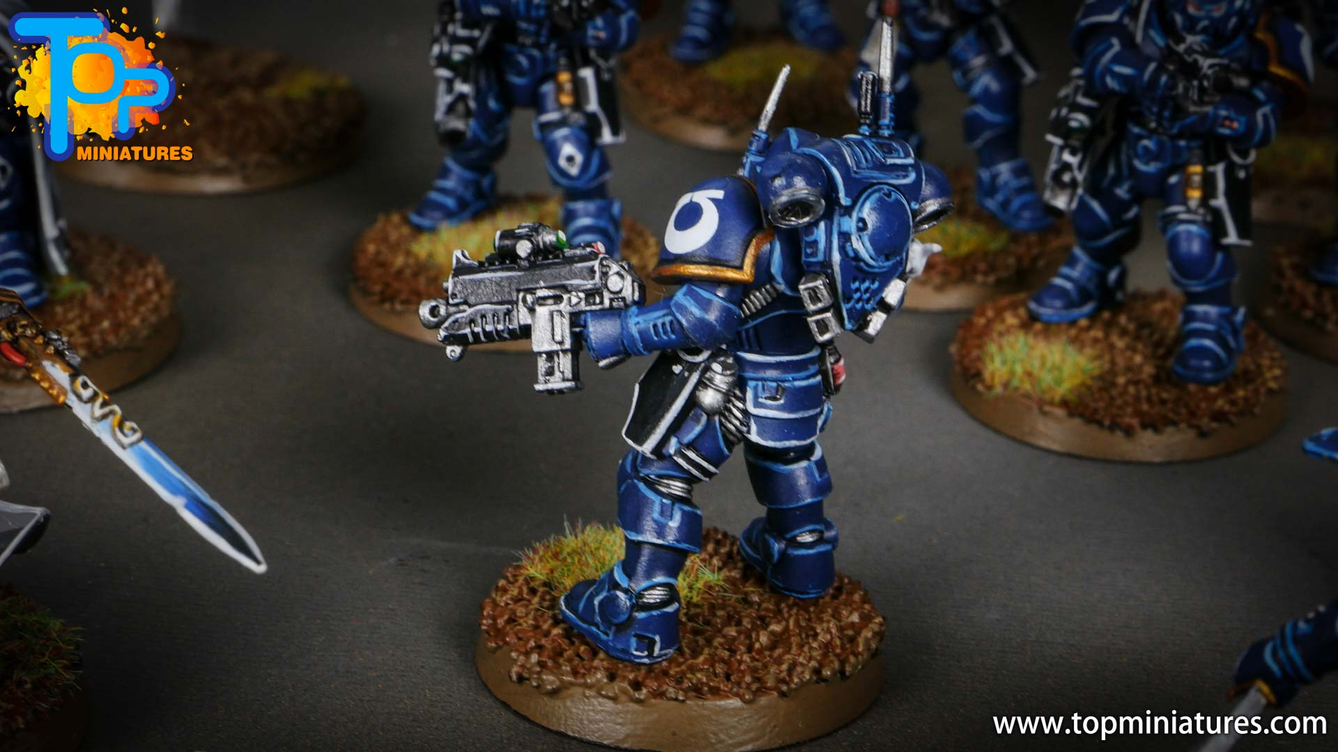 primaris ultramarines shadowspear infiltrator squad (9)