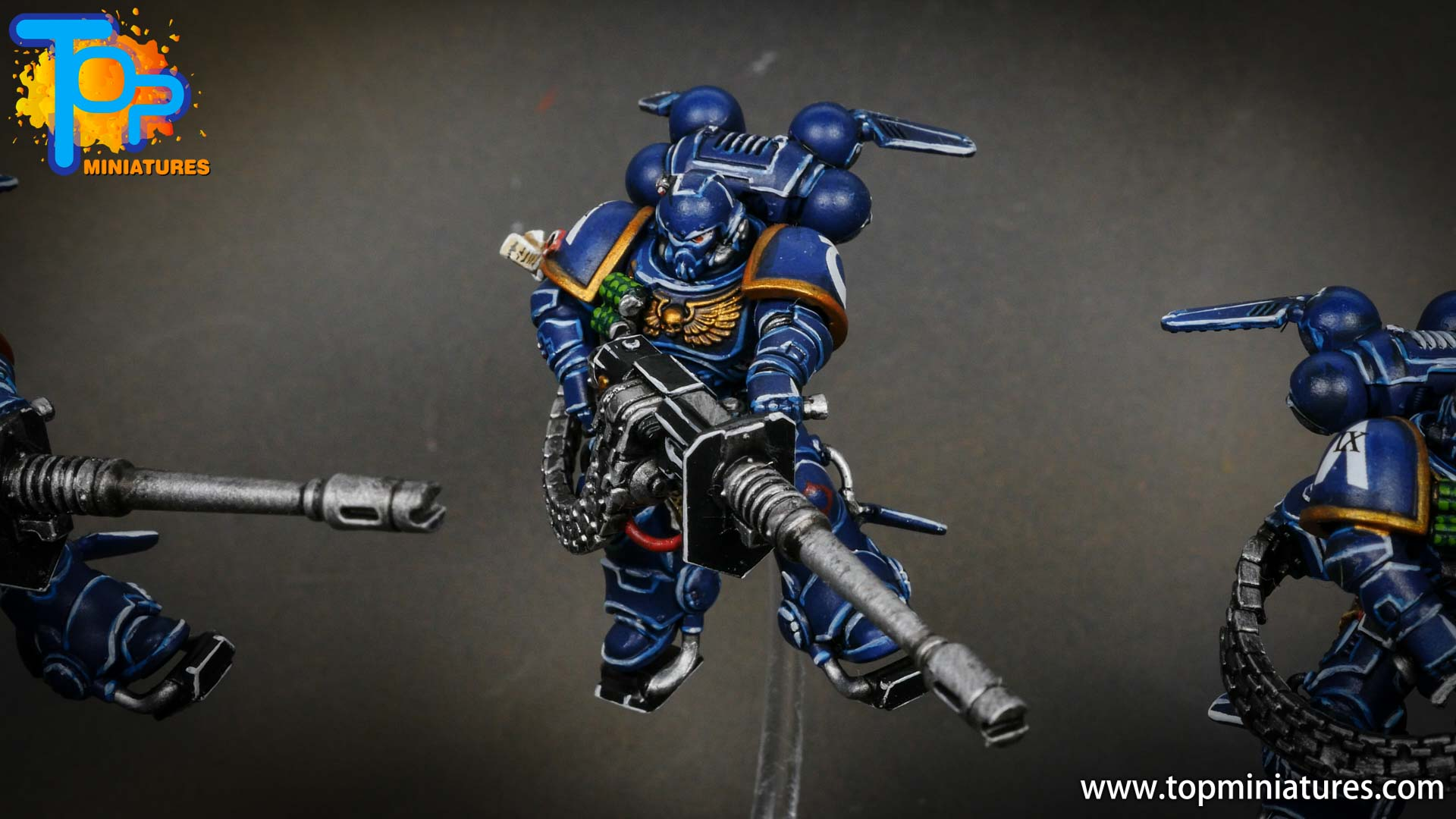 primaris ultramarines shadowspear supressor squad (2)