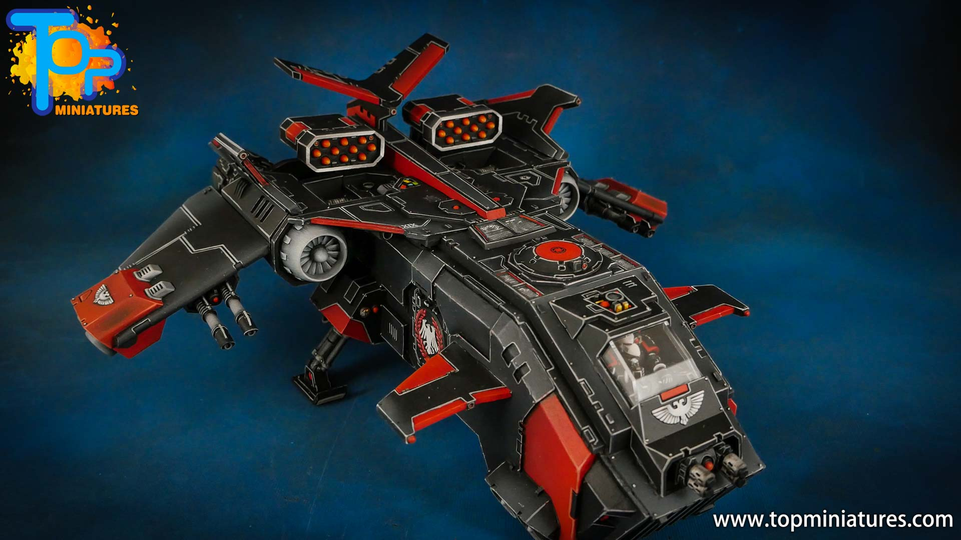 raven guard painted storm eagle gunship (2)