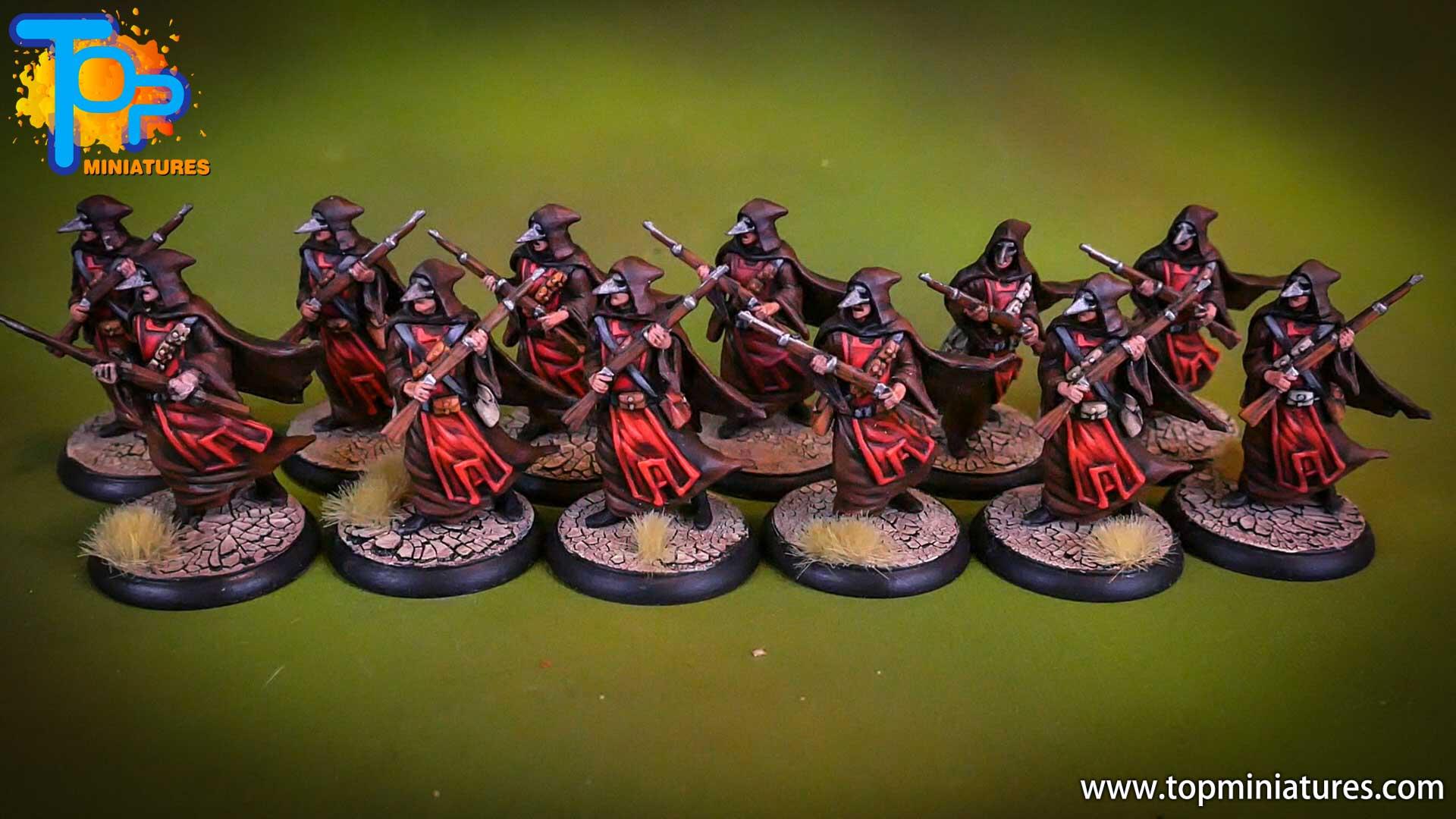 shadows of brimstone Crimson Hand Cultists (2)