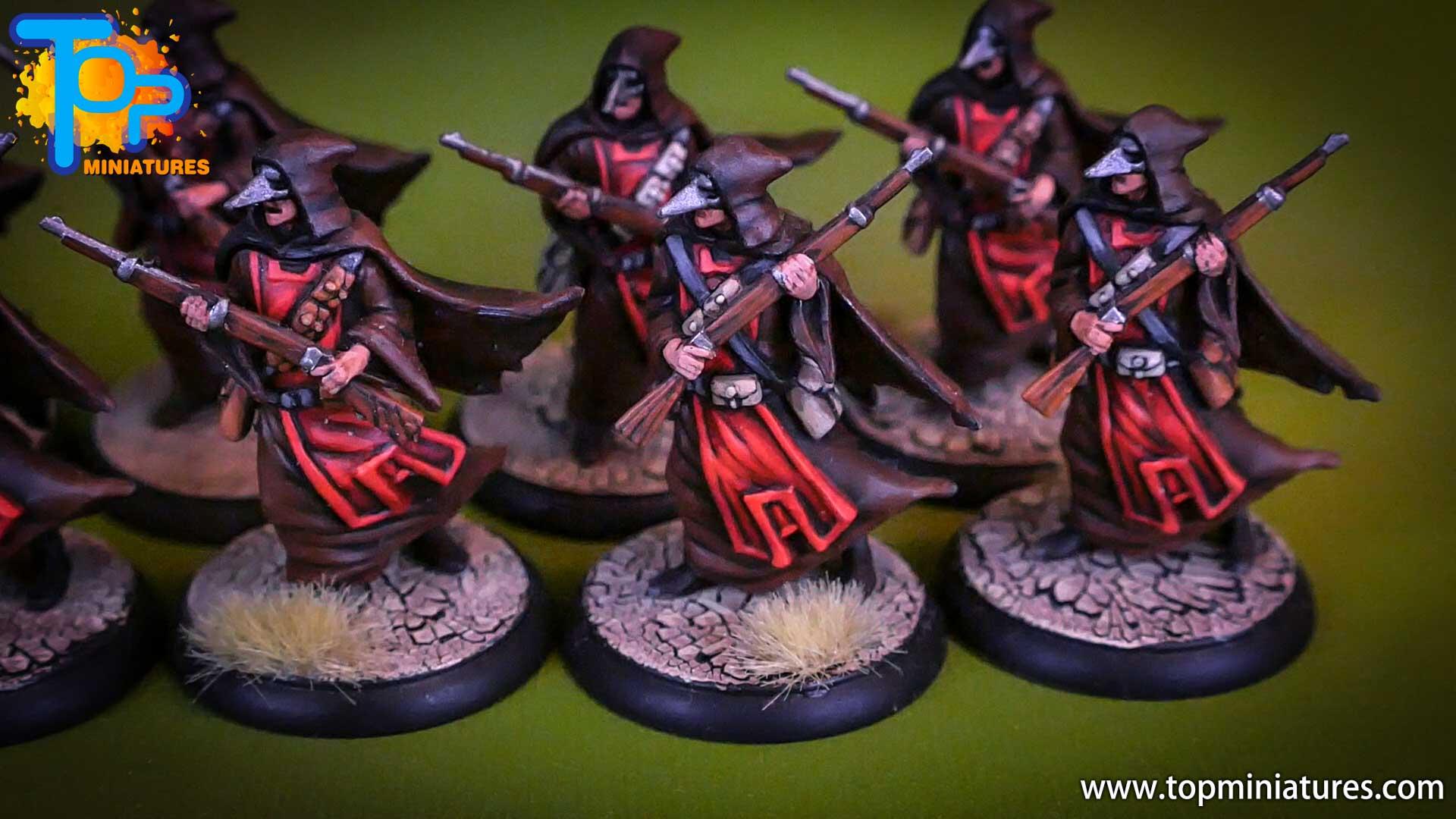 shadows of brimstone Crimson Hand Cultists (3)
