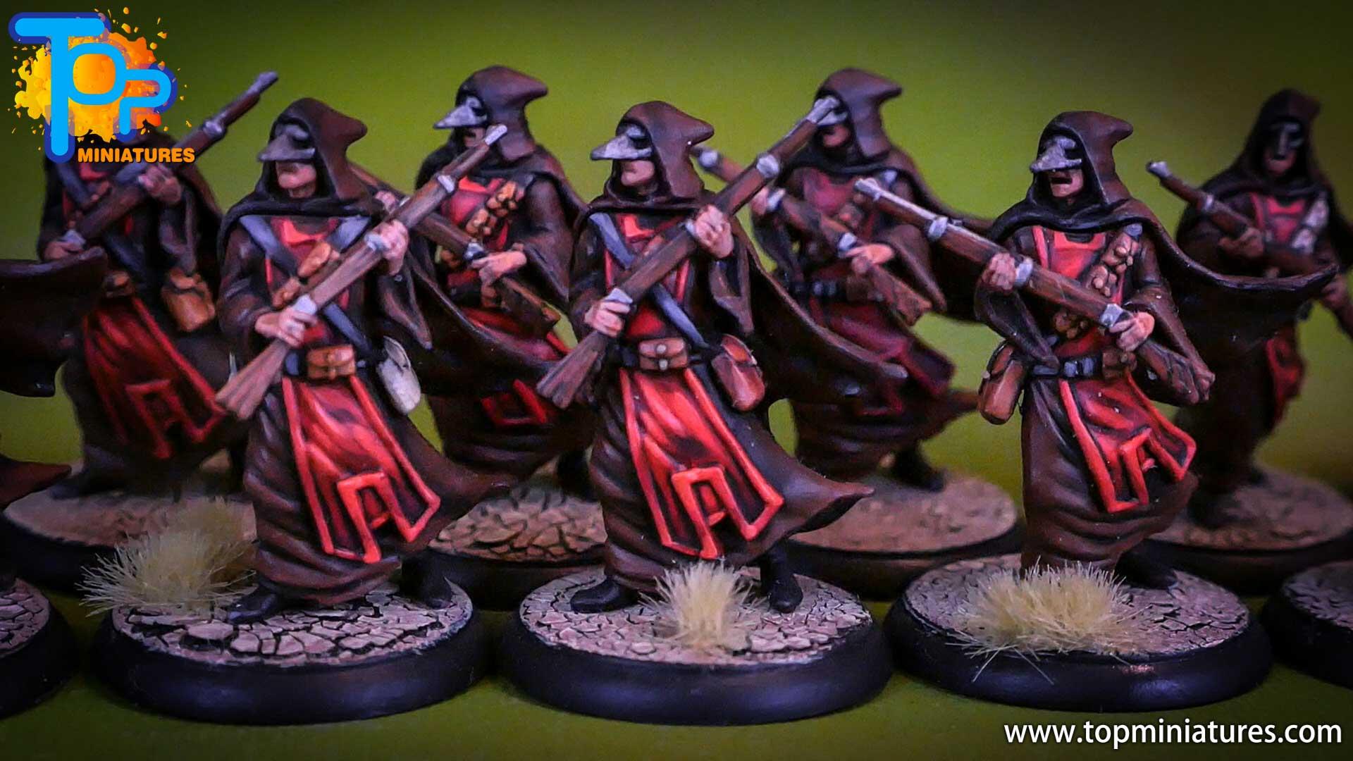 shadows of brimstone Crimson Hand Cultists (4)
