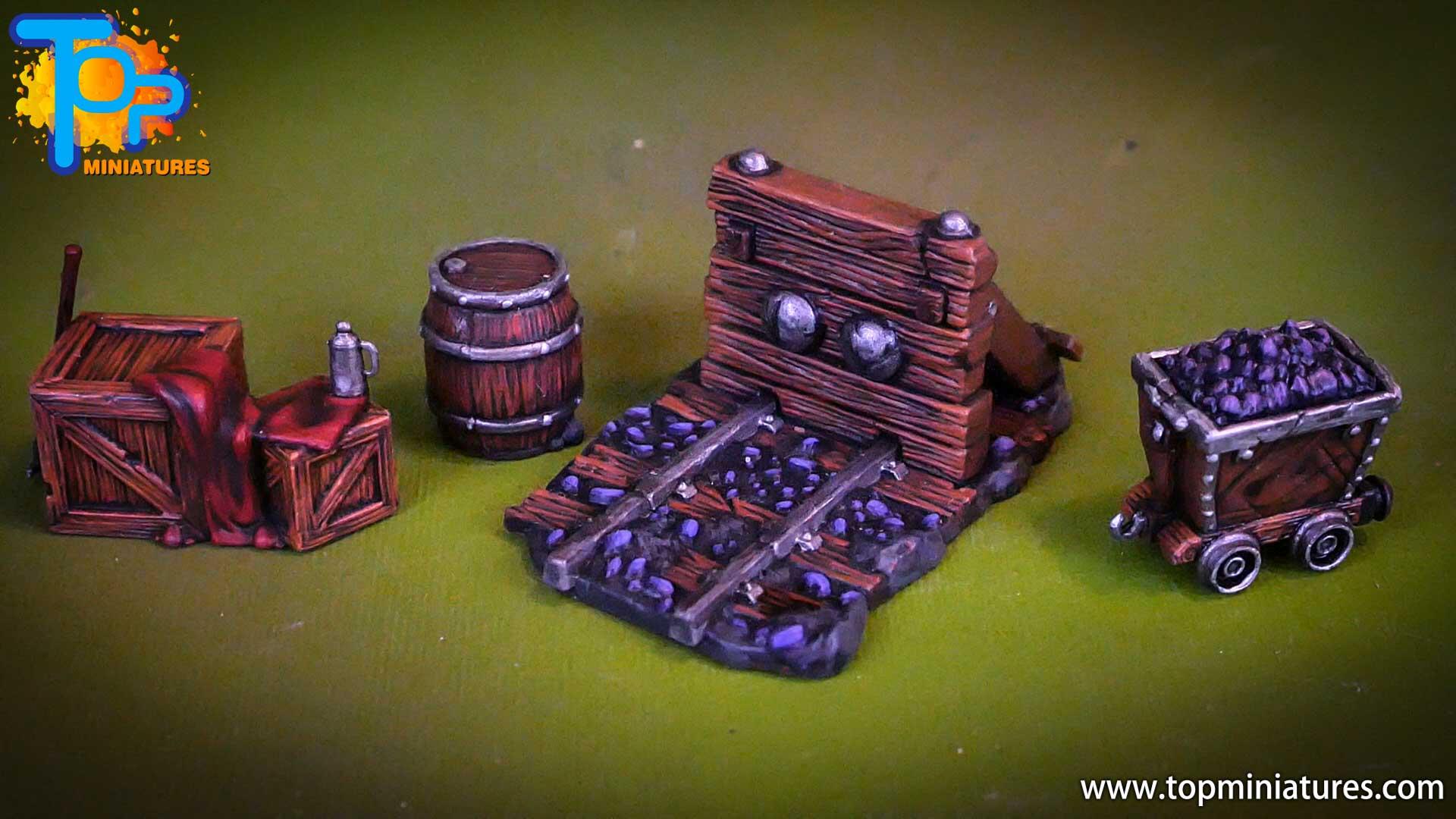 shadows of brimstone Minecart, doorways & crates (2)
