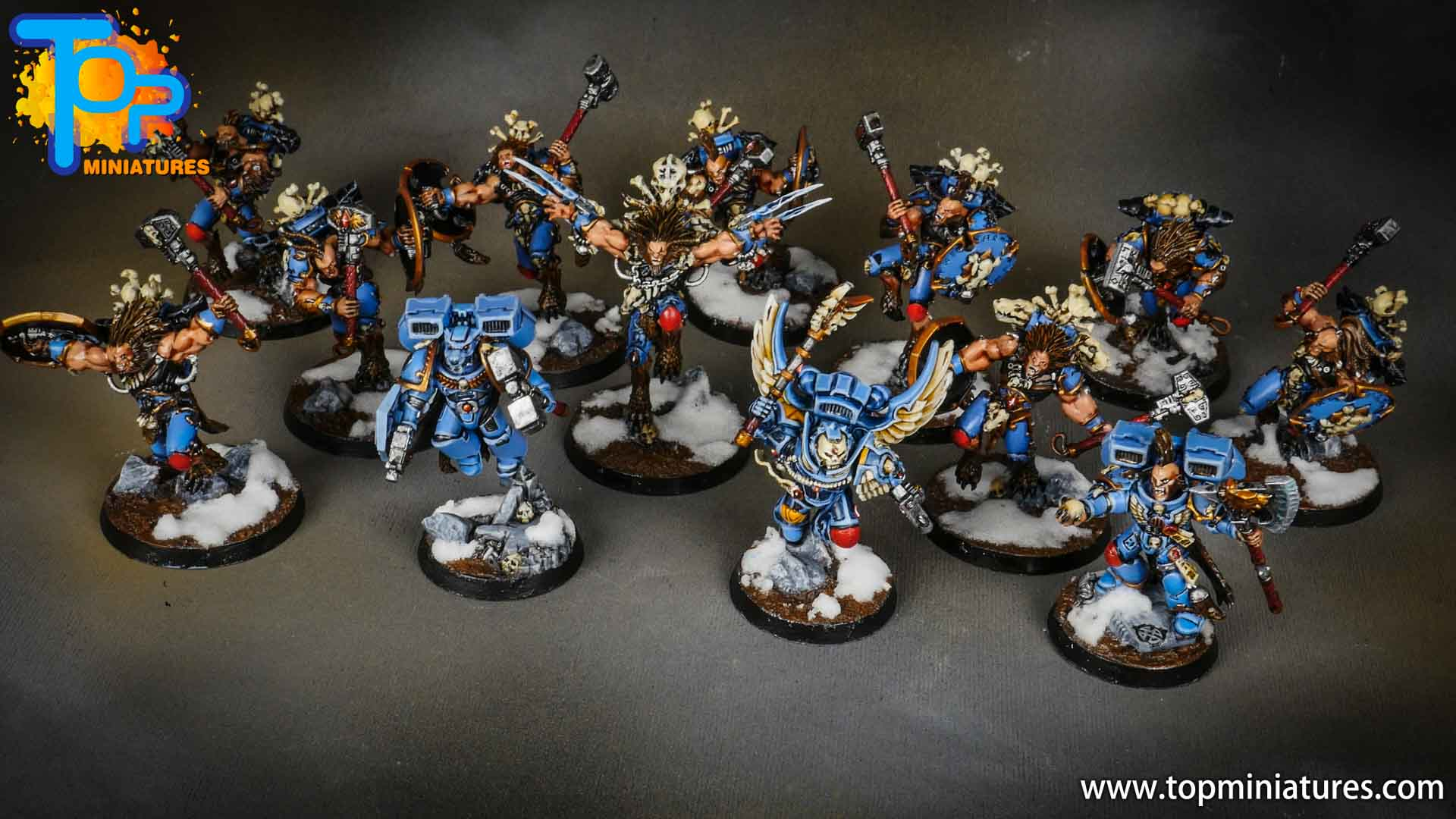 space wolves painted army (3)