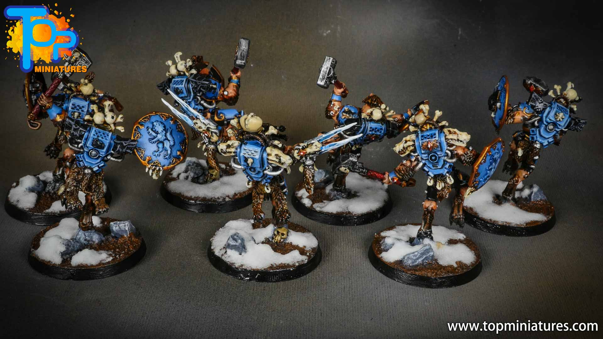 space wolves painted wulfen