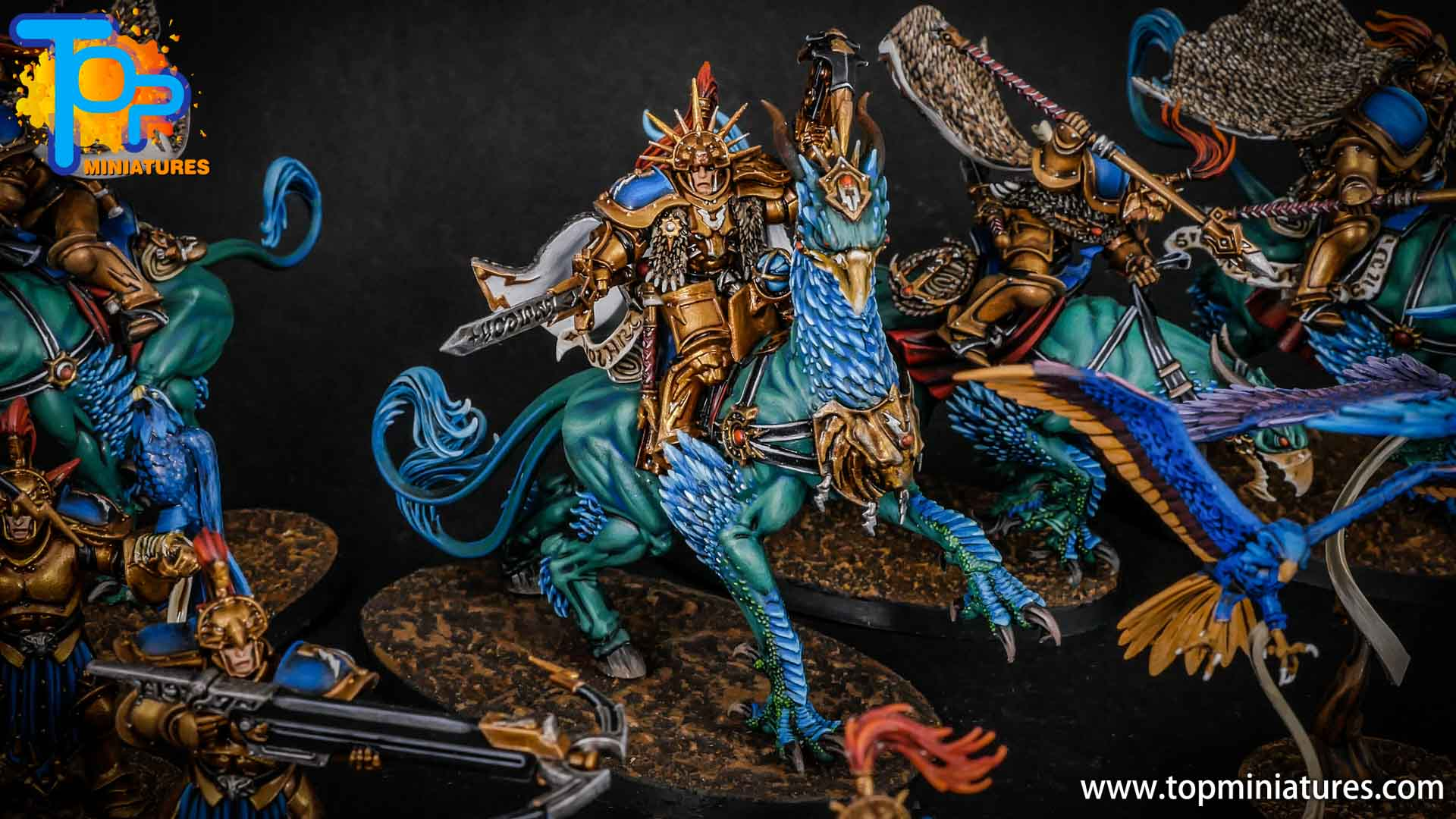 stormcast eternals lord aquilor on gryph charger (1)