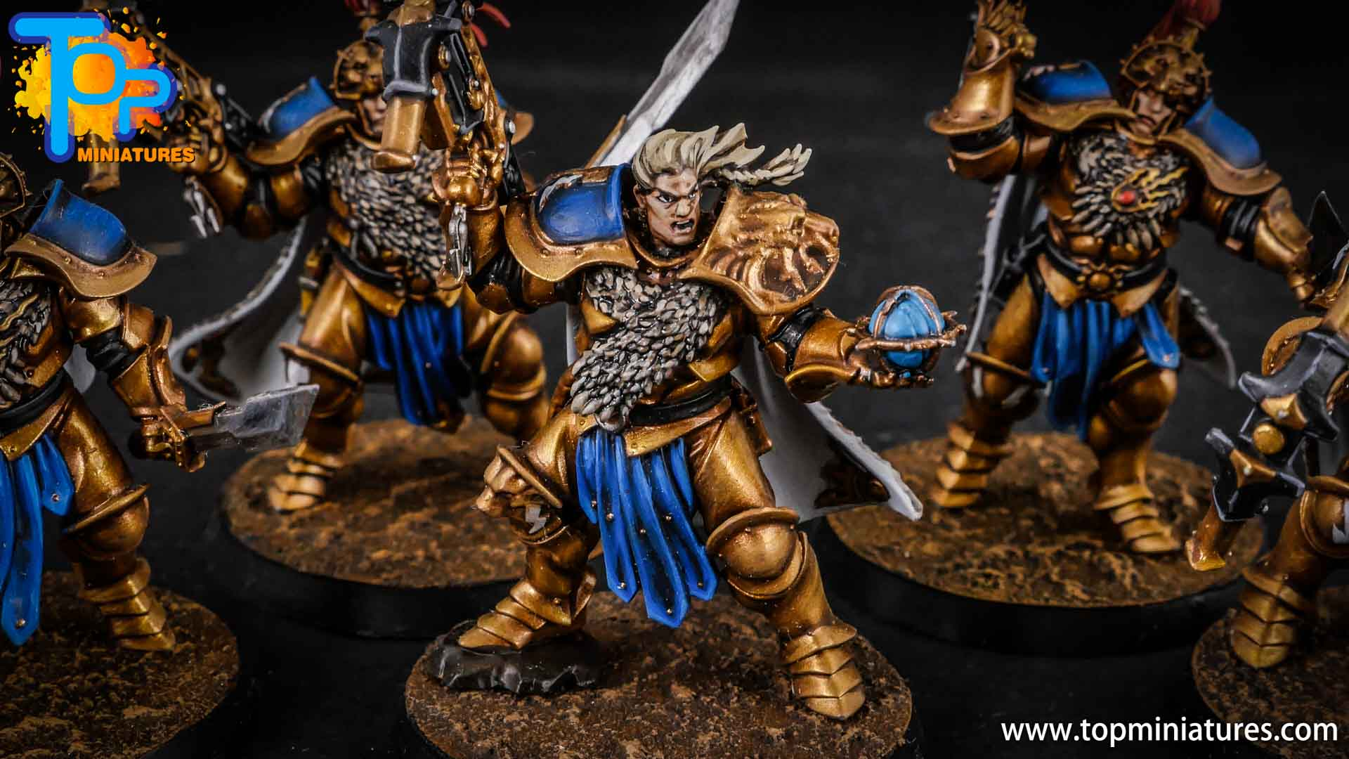 stormcast eternals painted vanguard raptors hunters (3)