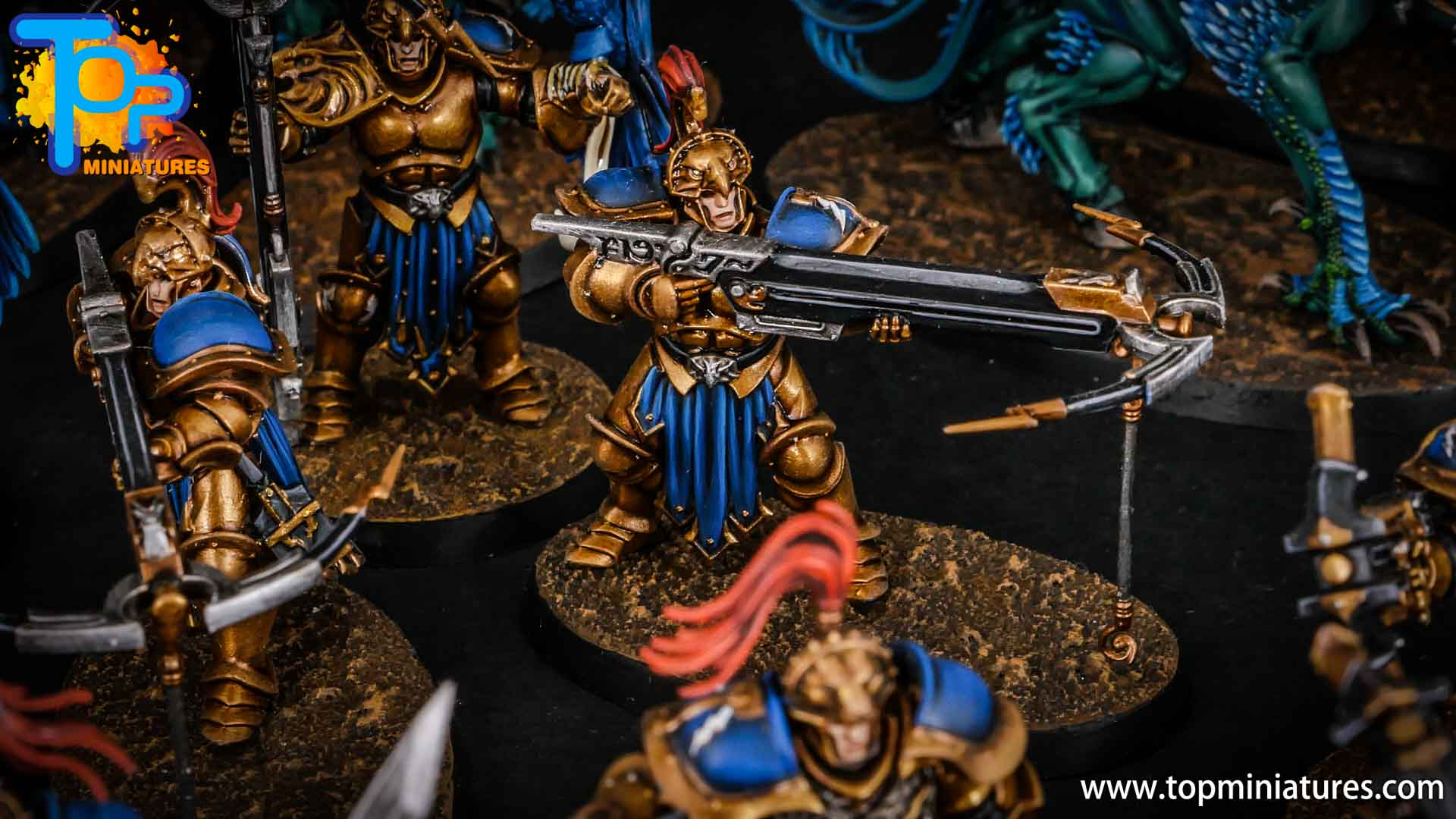 stormcast eternals painted vanguard raptors hunters