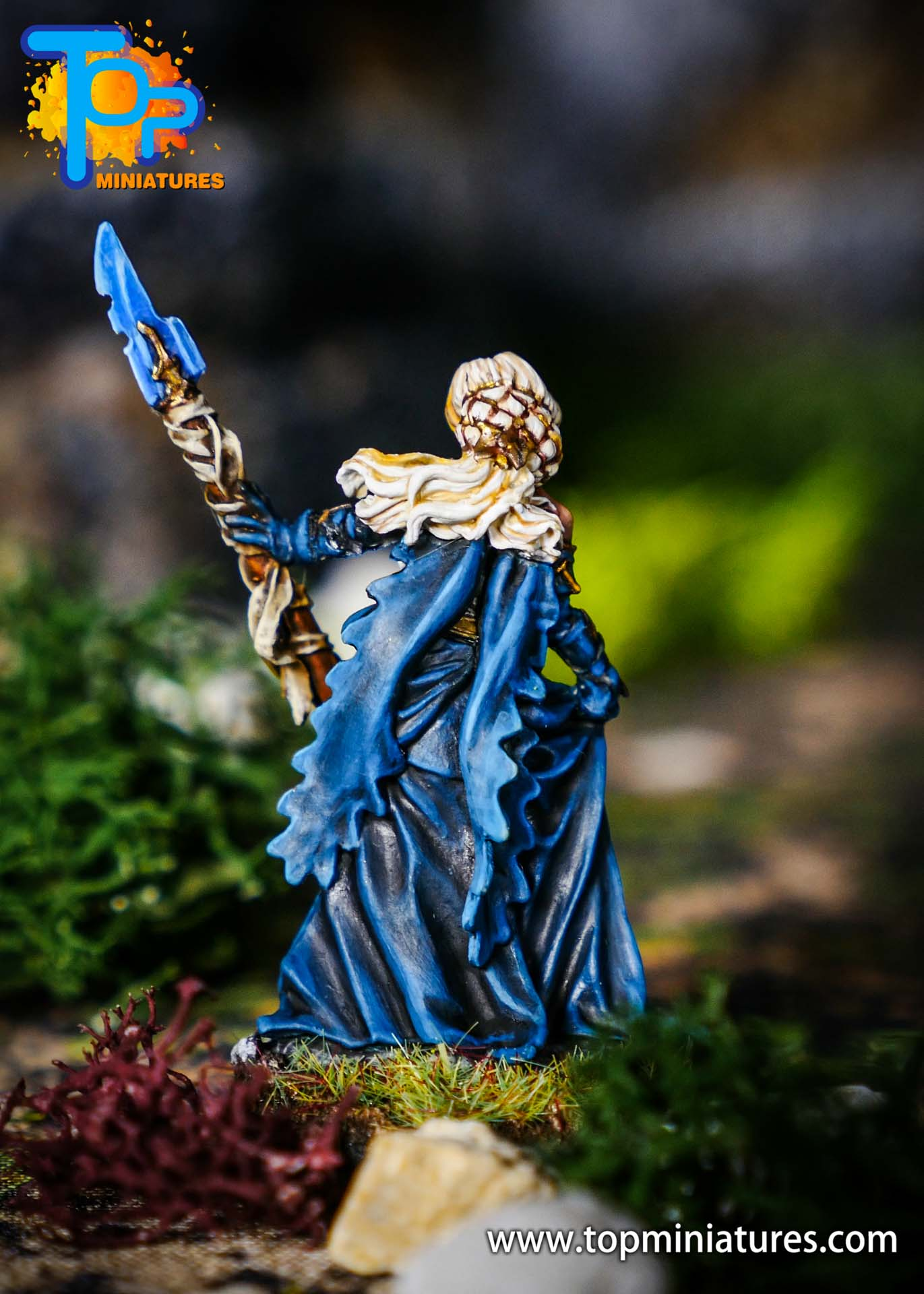 world of warcraft painted jaina miniature (1)