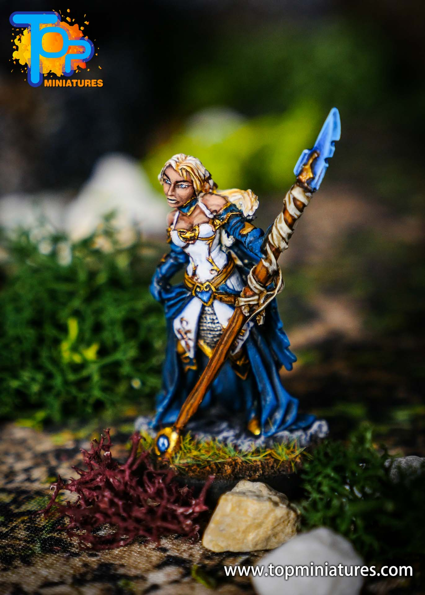 world of warcraft painted jaina miniature (3)