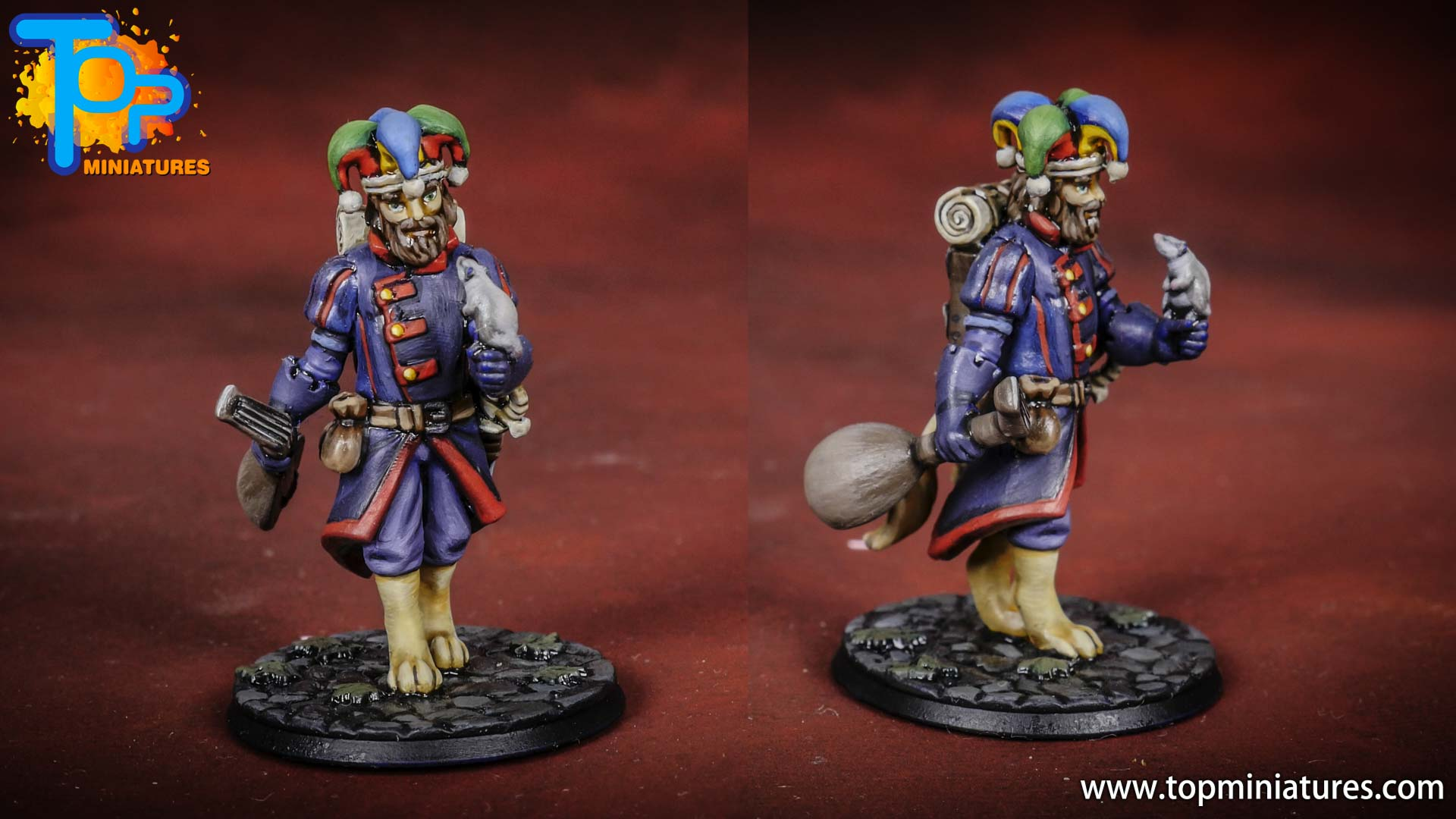 Heroforge commission painted D&D miniature (4)