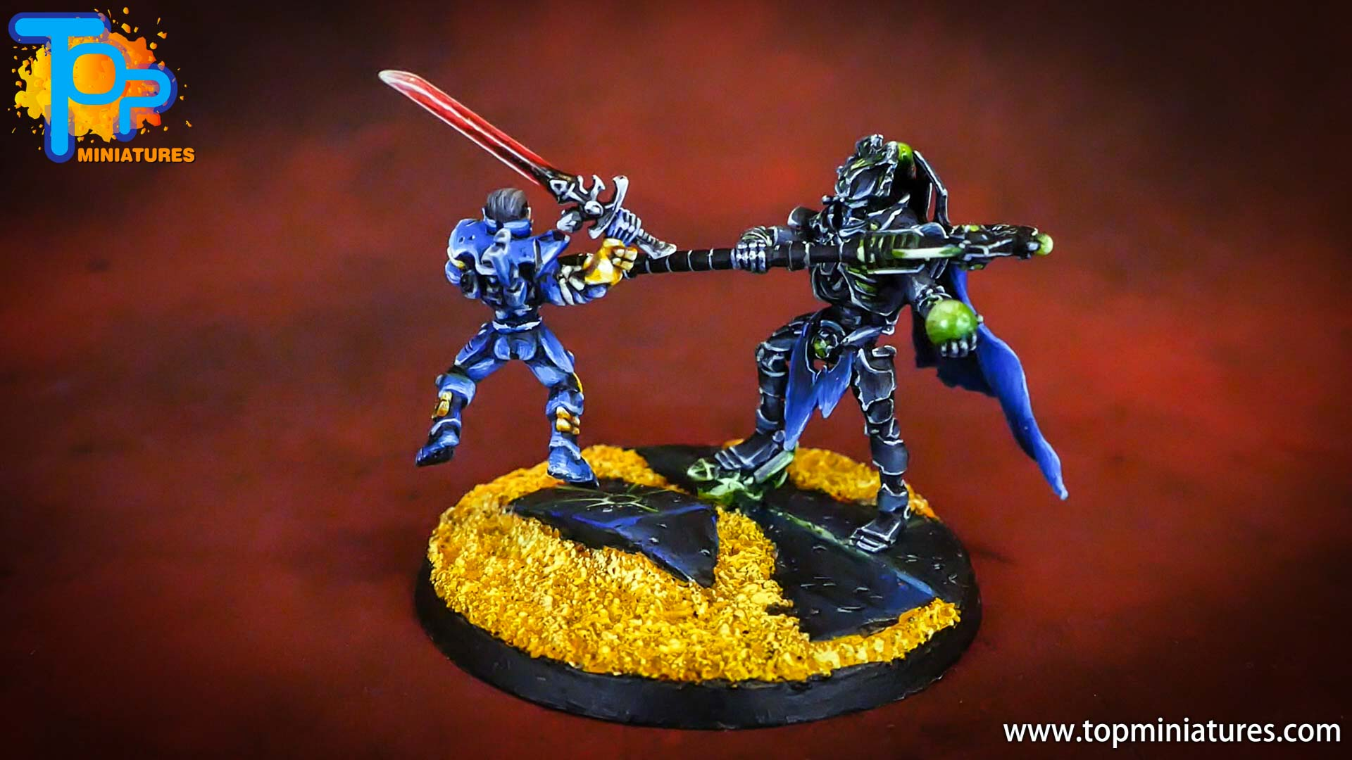 Necron lord resurrection orb diorama (1)