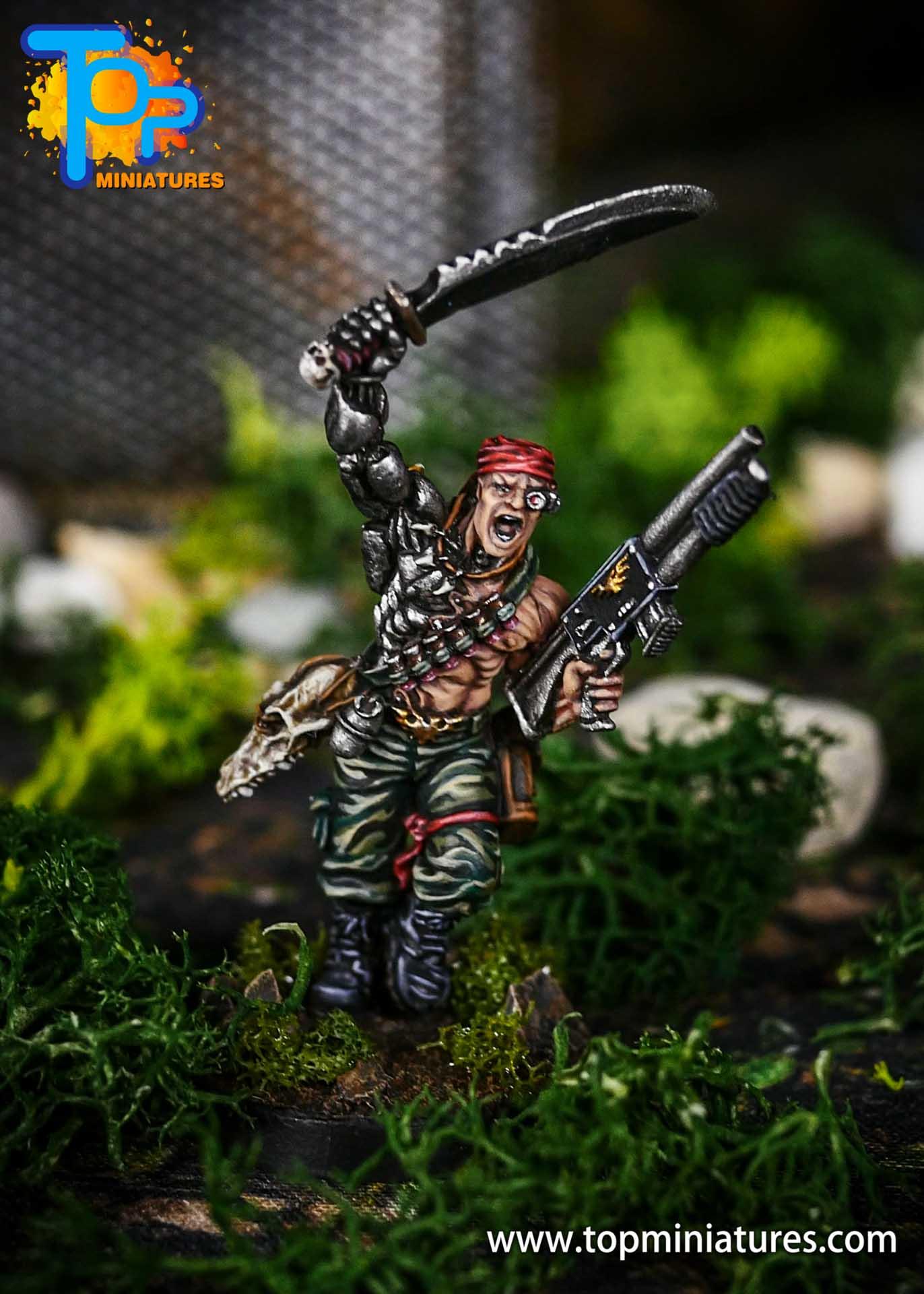 Pro Painted Colonel Iron Hand Straken (1)