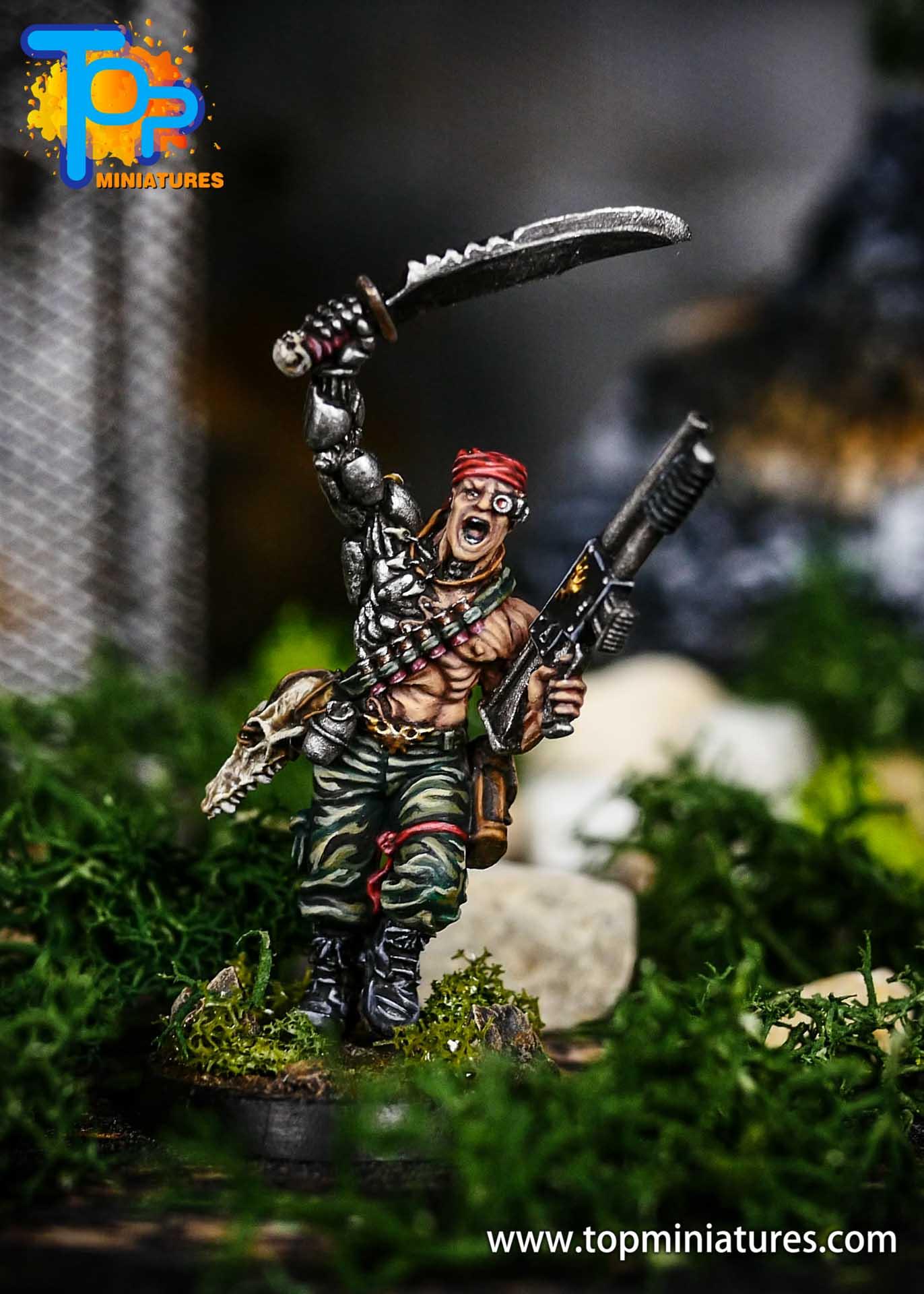 Pro Painted Colonel Iron Hand Straken (4)