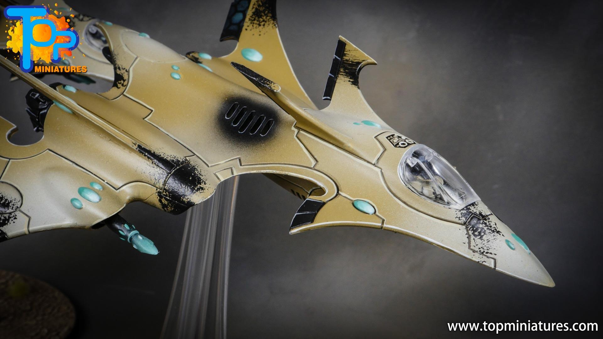 aeldari crimson hunter hemlock wraithfighter (10)