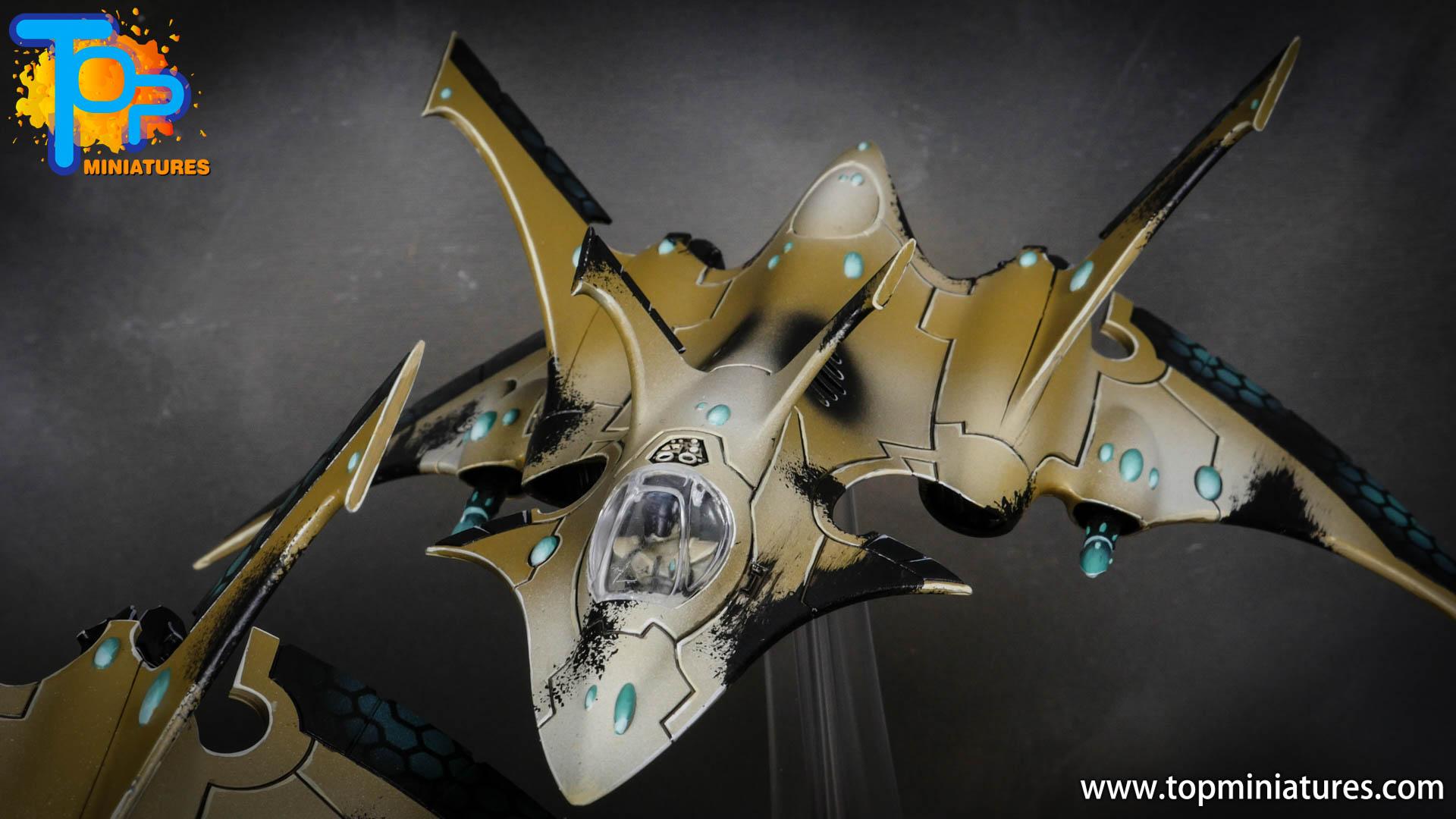 aeldari crimson hunter hemlock wraithfighter (13)