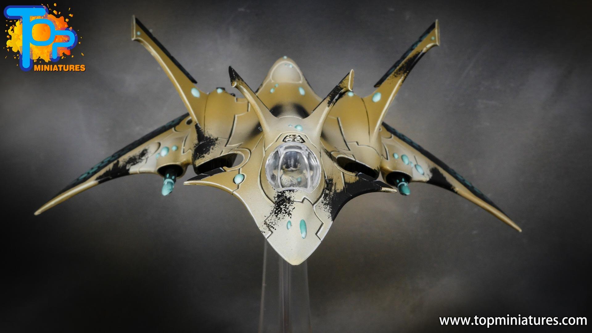 aeldari crimson hunter hemlock wraithfighter (5)