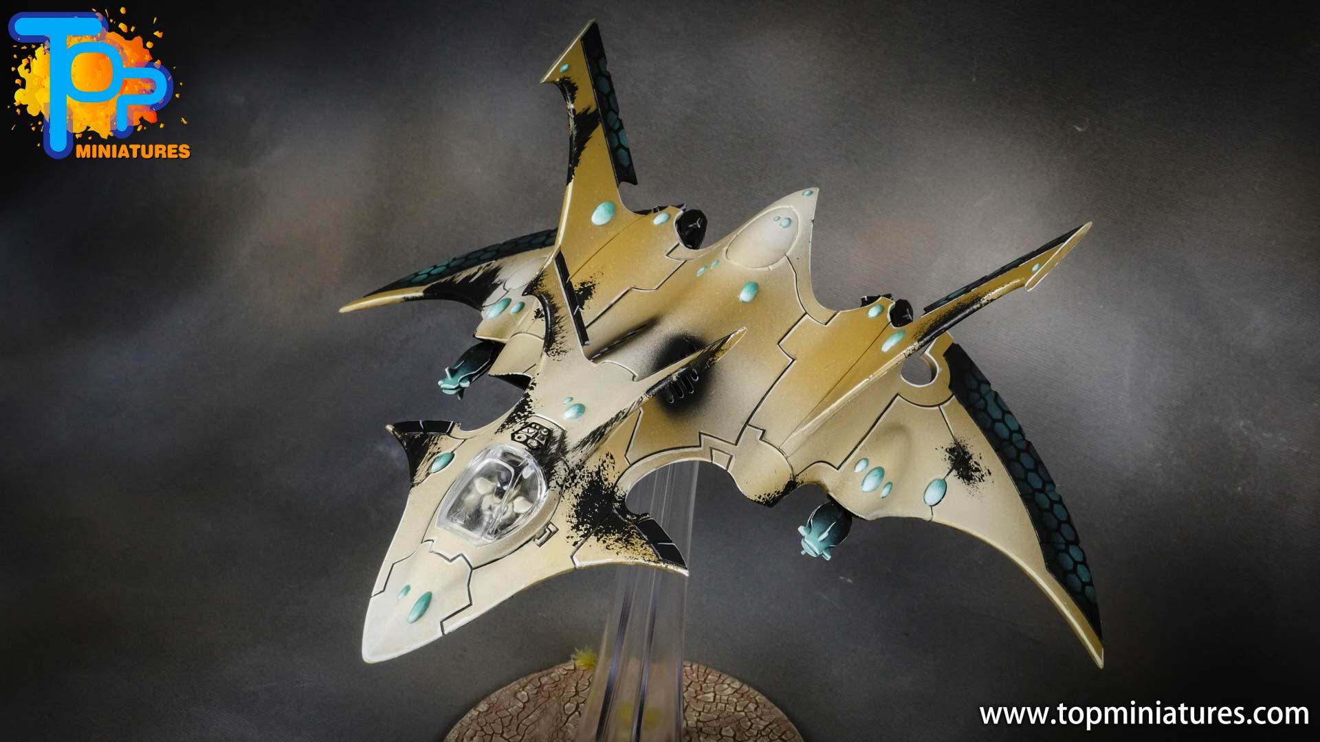 aeldari crimson hunter hemlock wraithfighter (6)