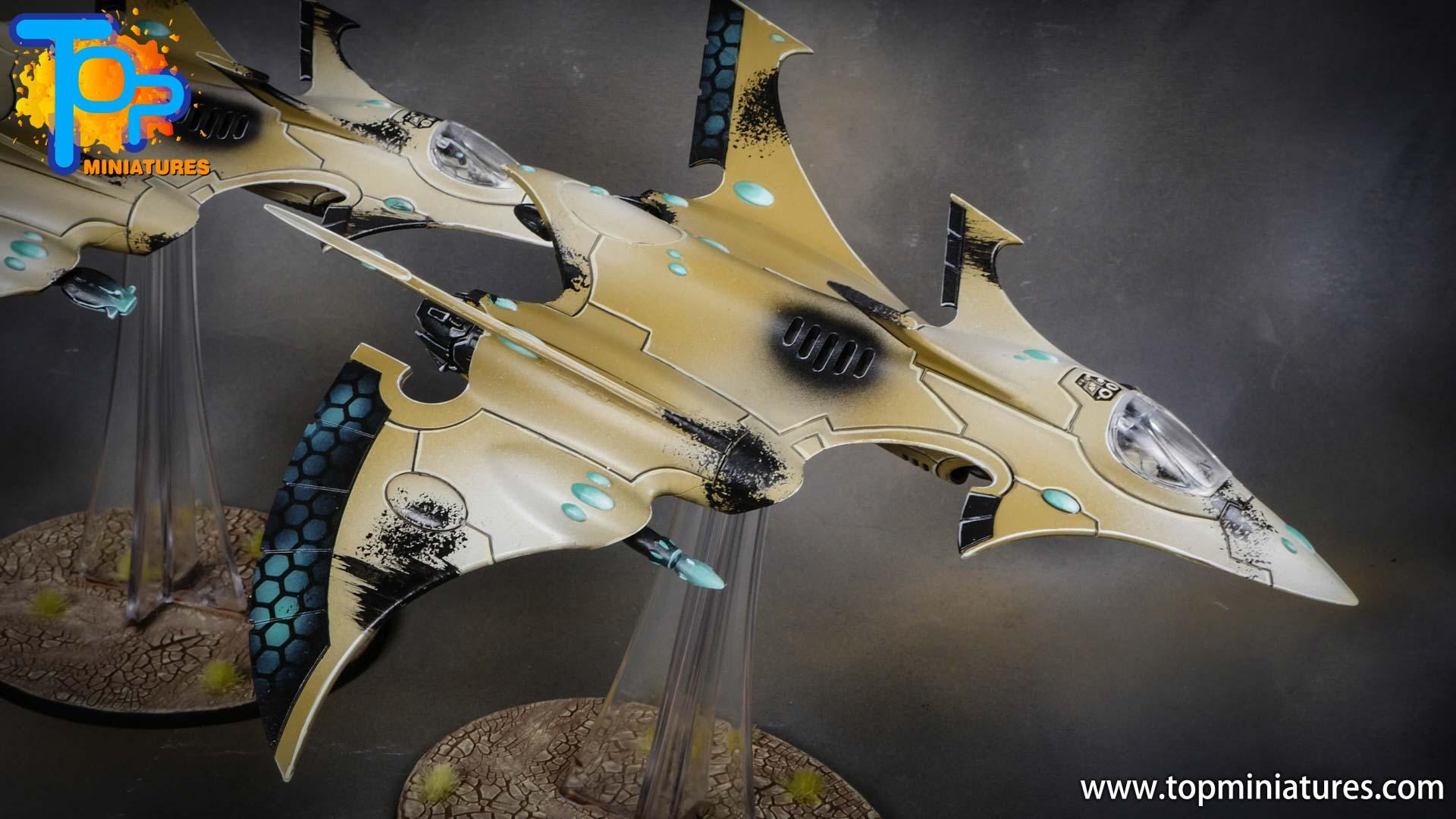 aeldari crimson hunter hemlock wraithfighter (8)