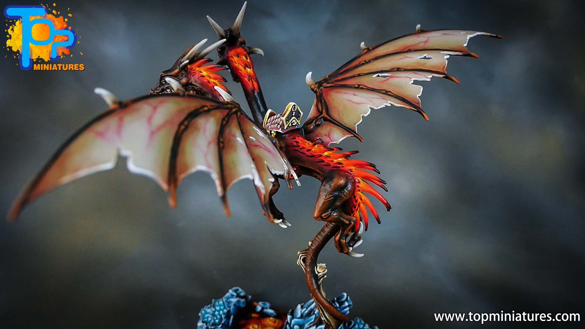 age of sigmar painted chaos dragon (10)