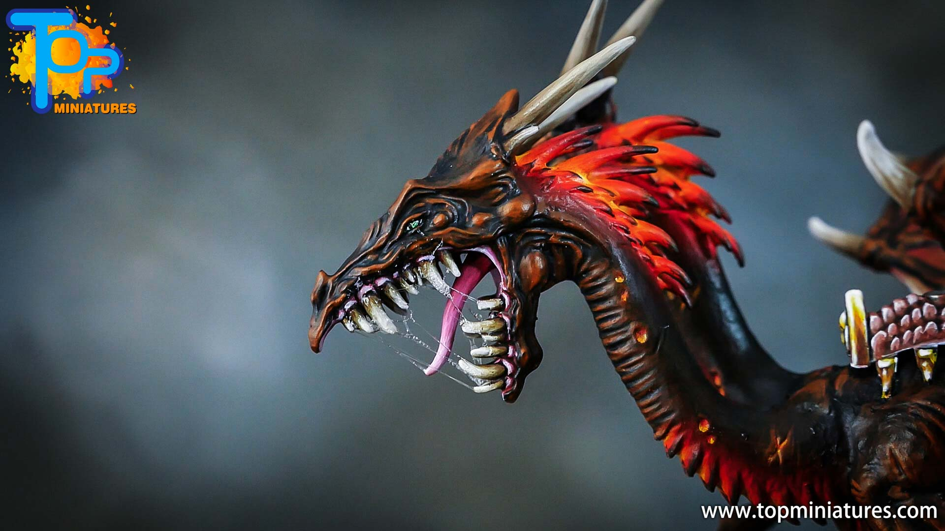 age of sigmar painted chaos dragon (11)