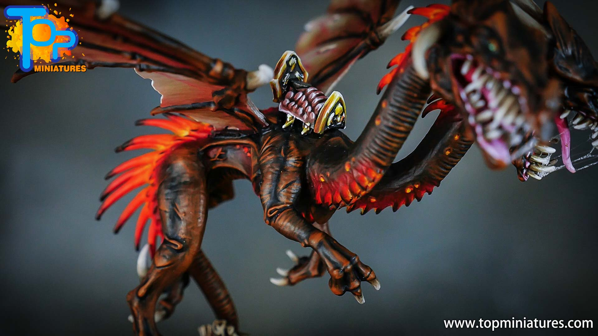 age of sigmar painted chaos dragon (12)