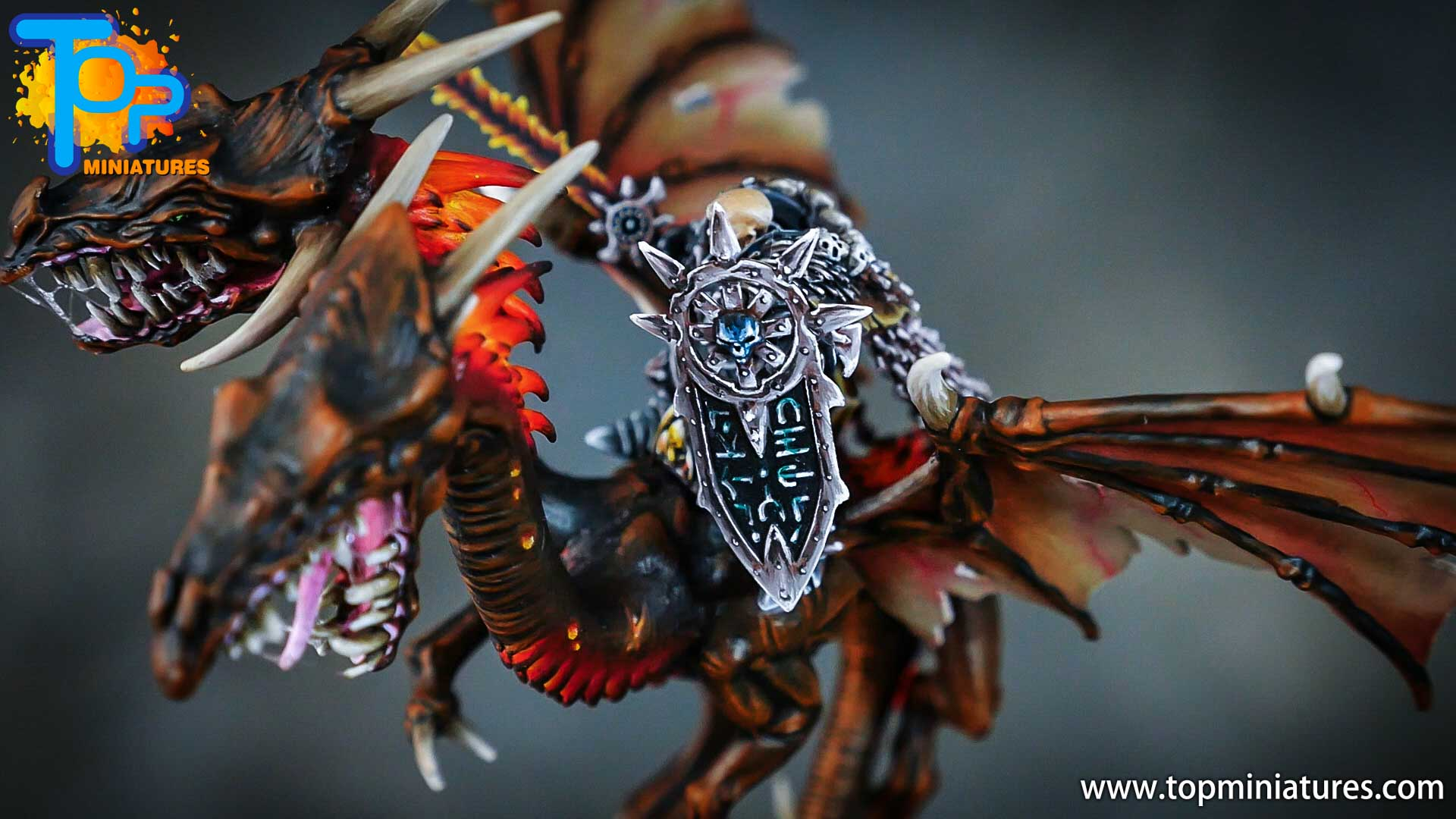 age of sigmar painted chaos dragon (15)