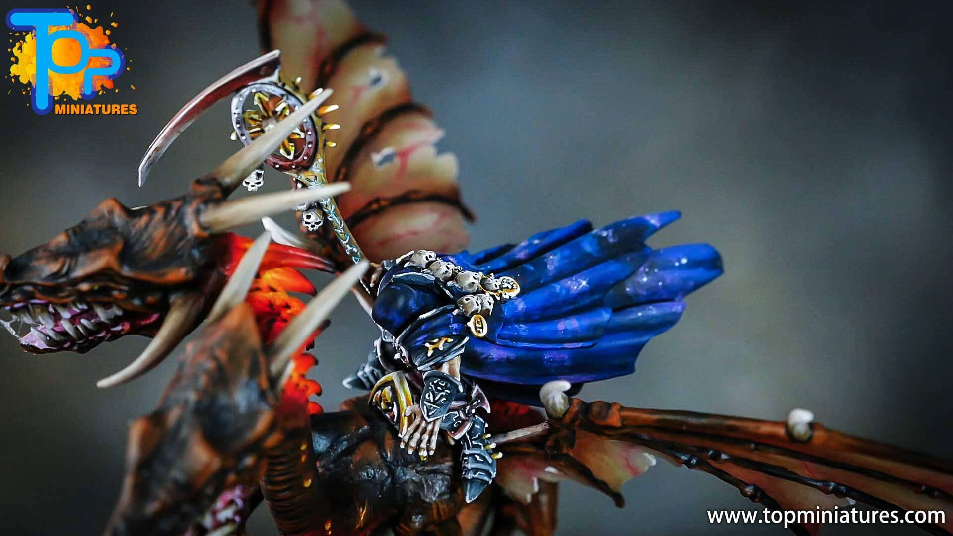 age of sigmar painted chaos dragon (18)