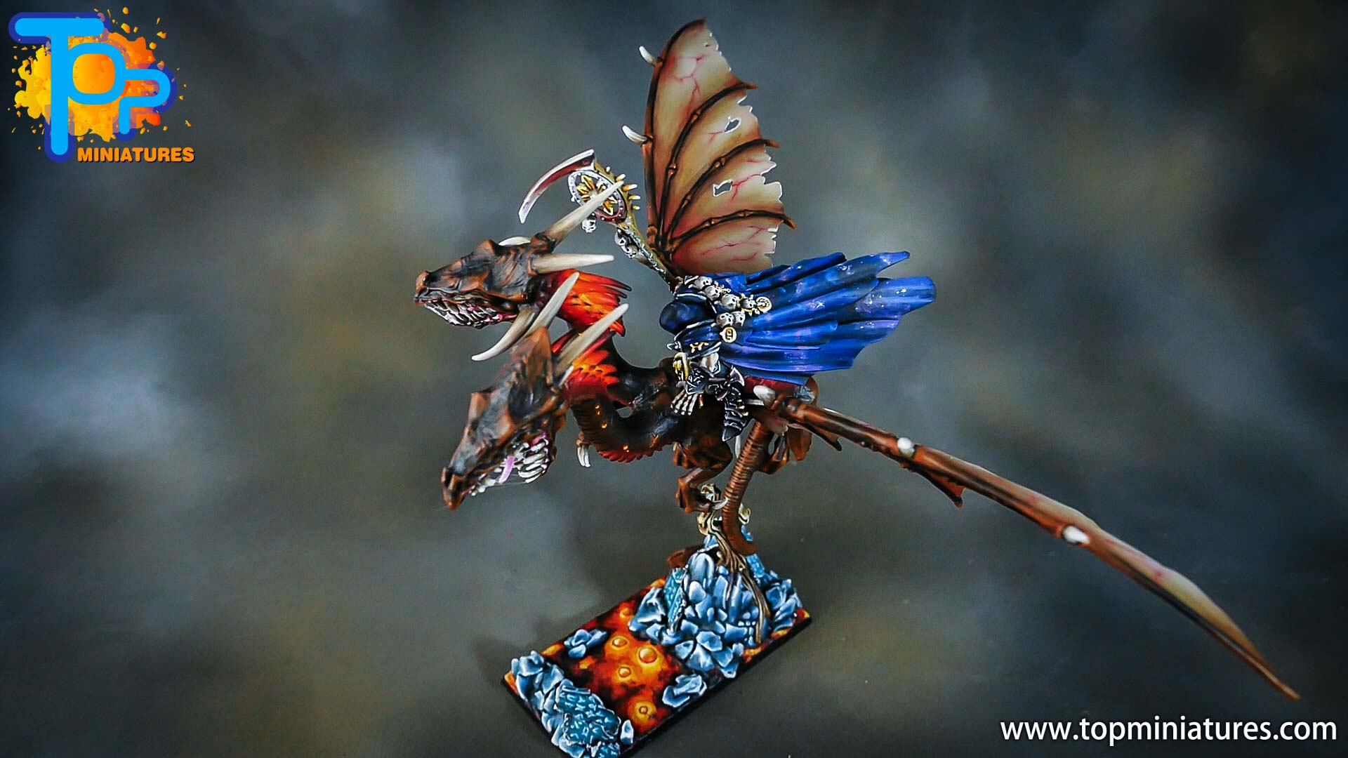 age of sigmar painted chaos dragon (21)