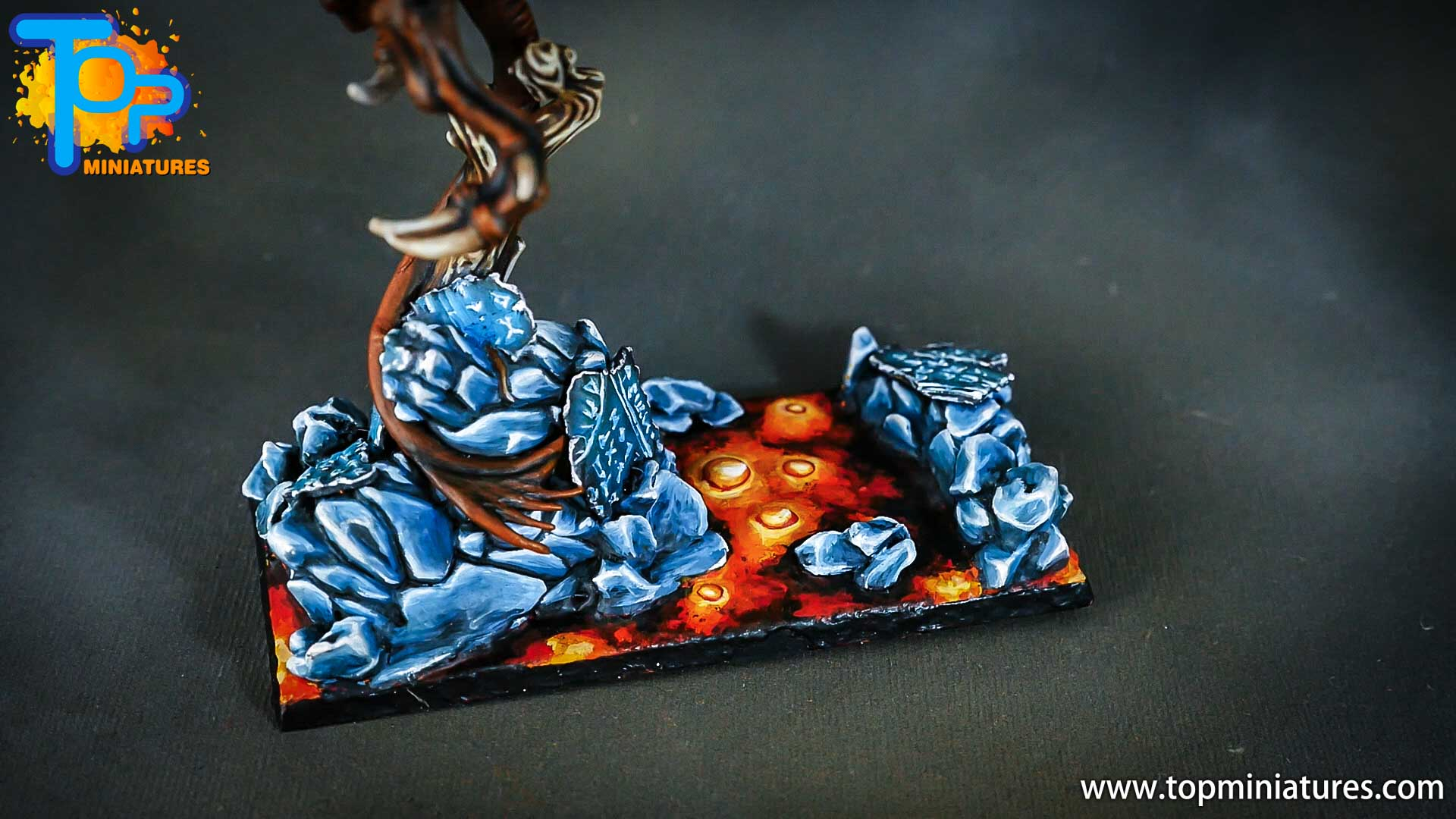 age of sigmar painted chaos dragon (3)