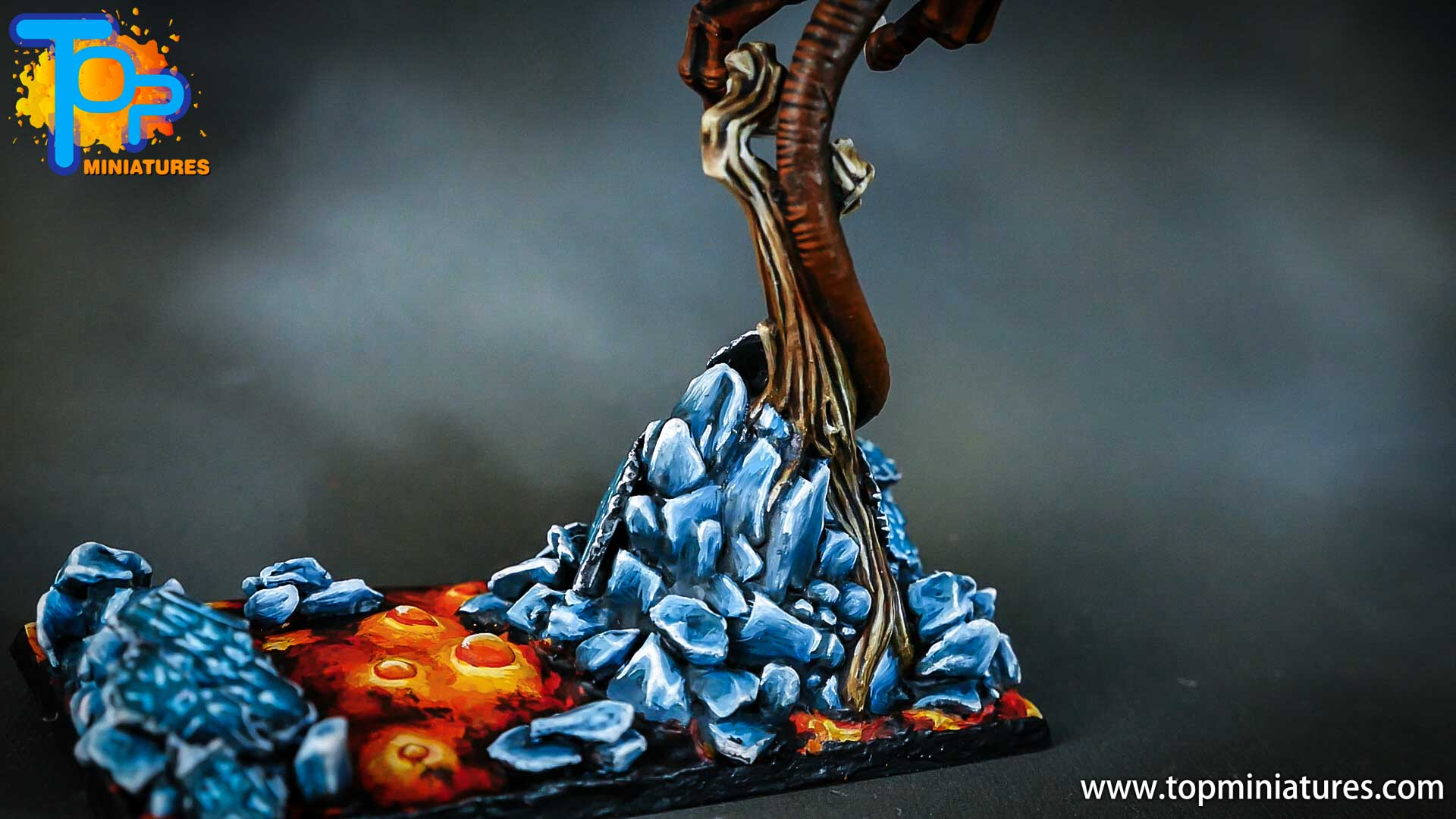 age of sigmar painted chaos dragon (5)
