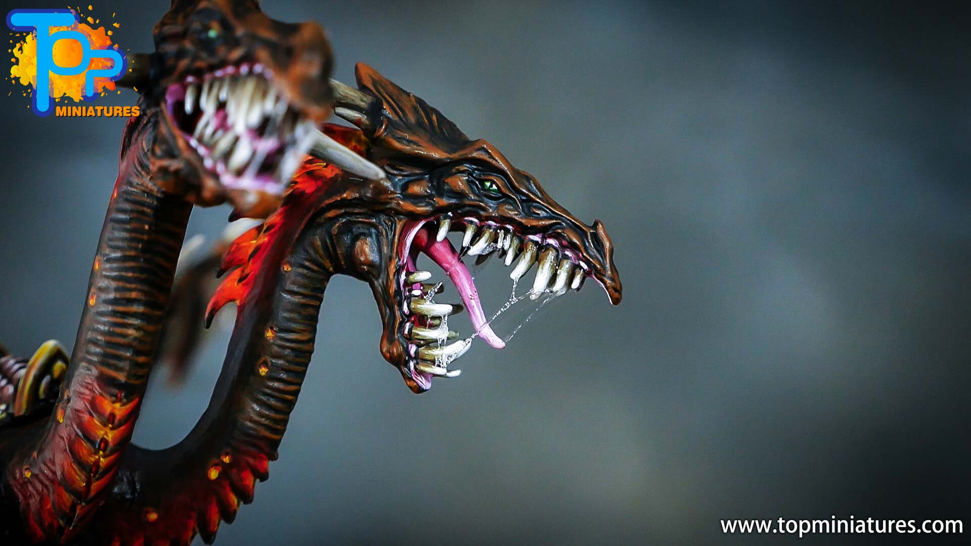 age of sigmar painted chaos dragon (6)