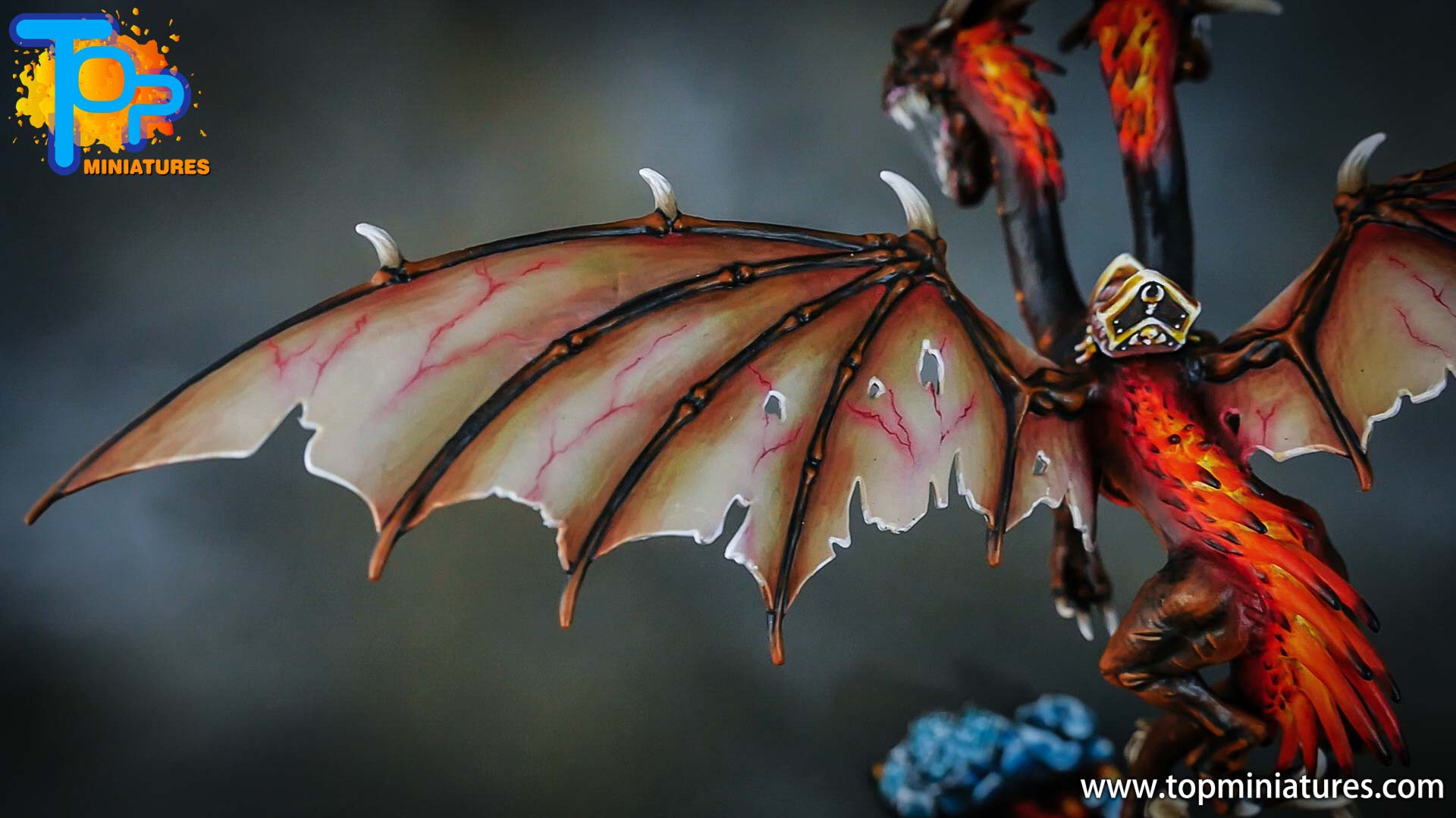 age of sigmar painted chaos dragon (8)