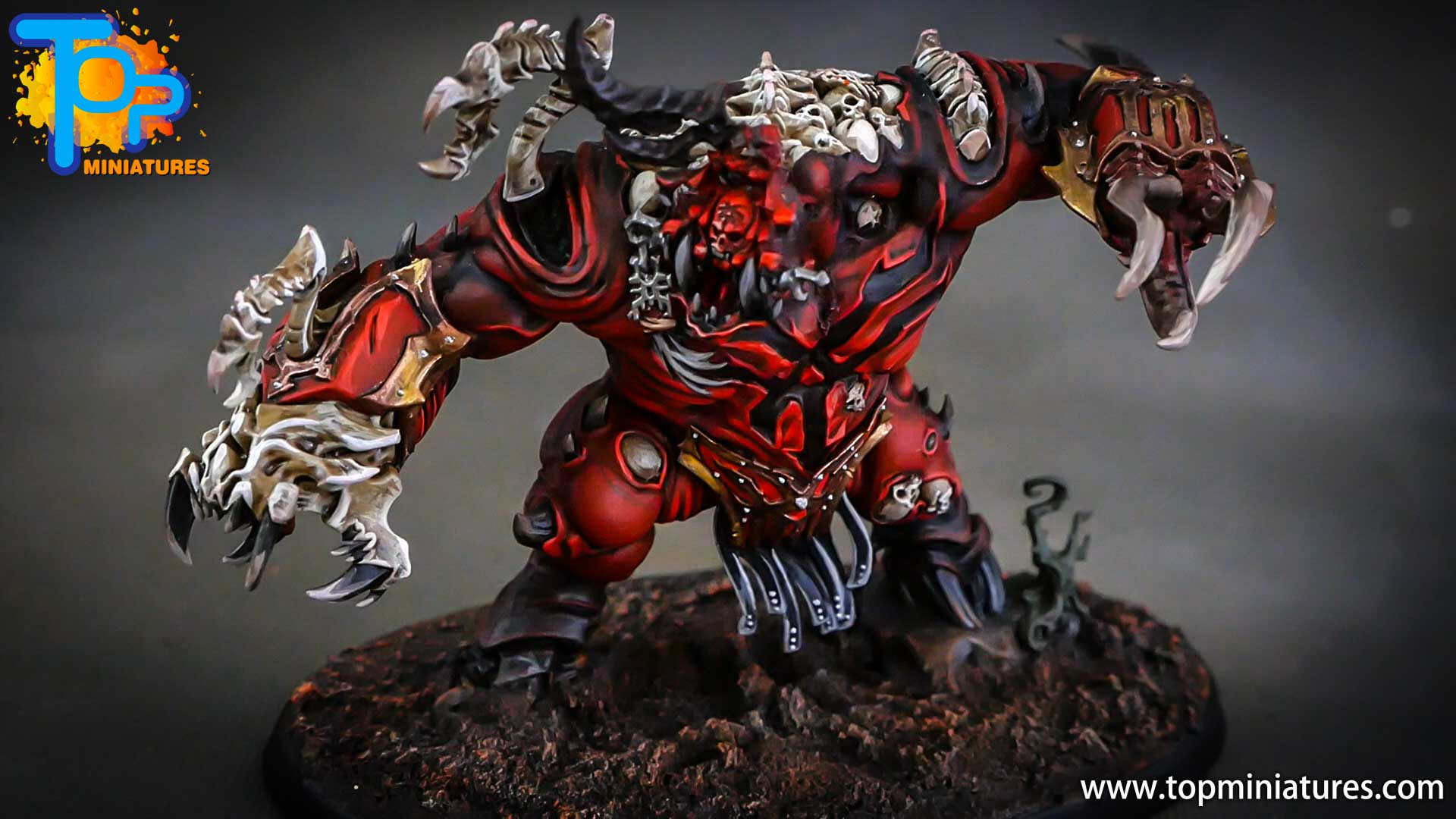 age of sigmar painted khorne khorgorath (2)