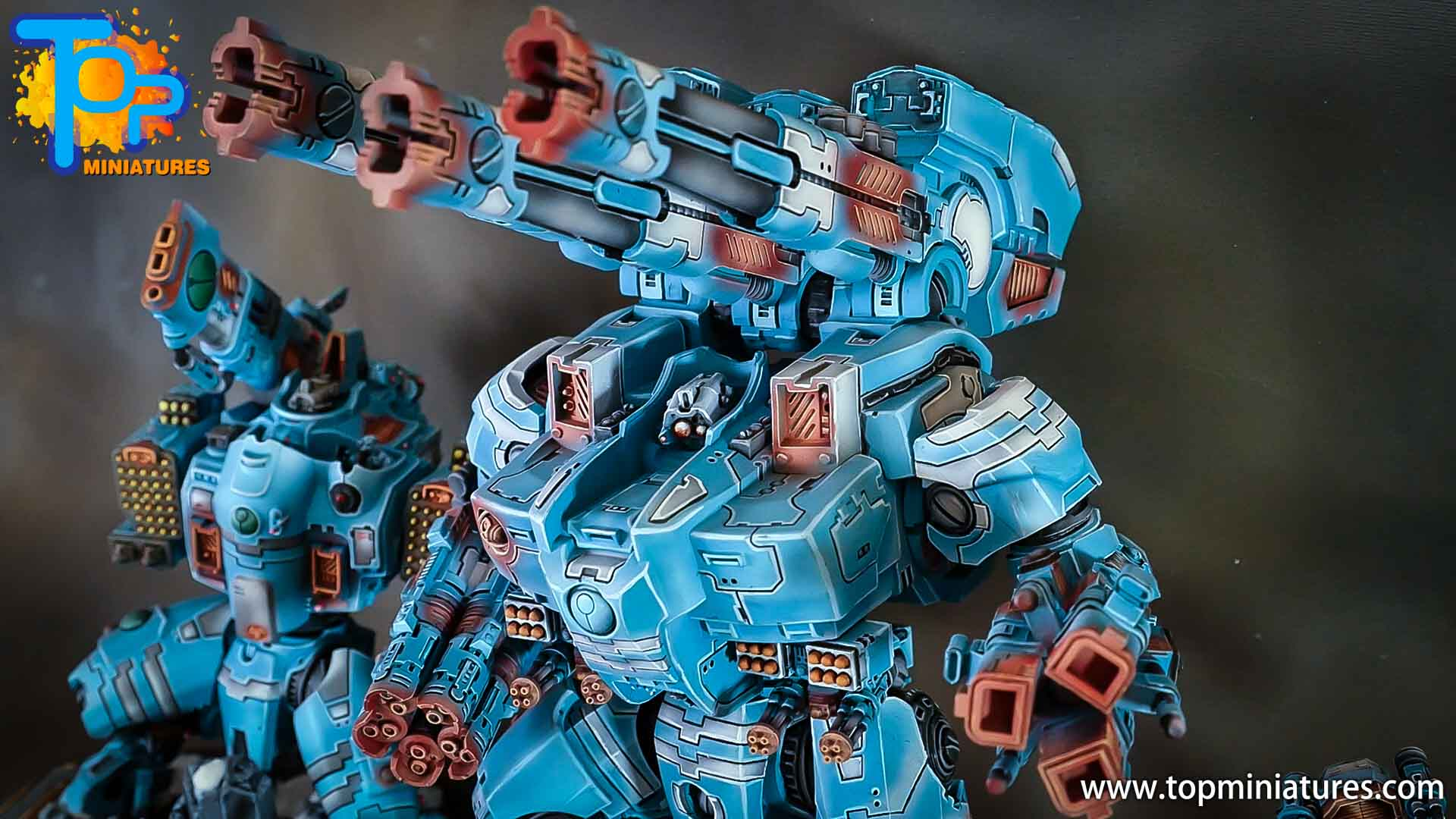 blue KX139 Ta'unar Supremacy Armour (1)