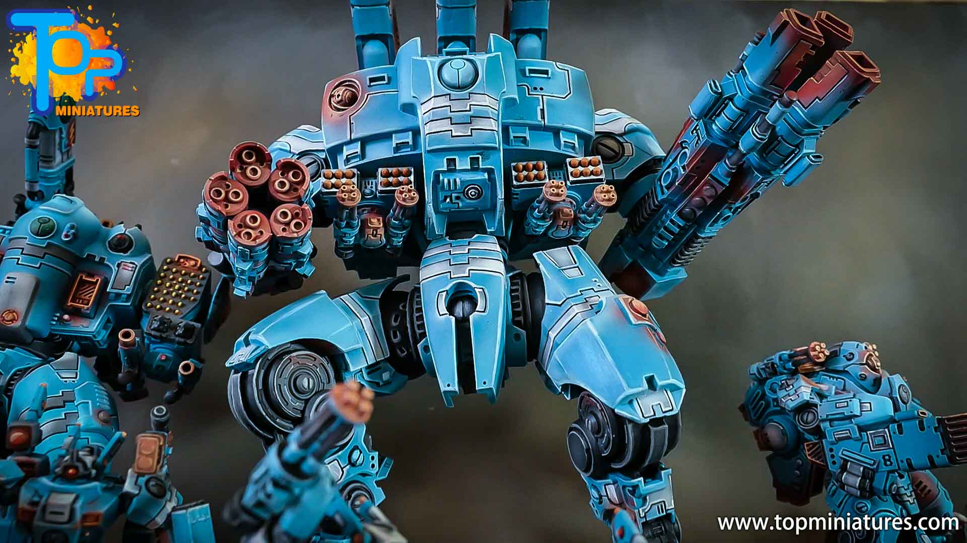 blue KX139 Ta'unar Supremacy Armour (4)