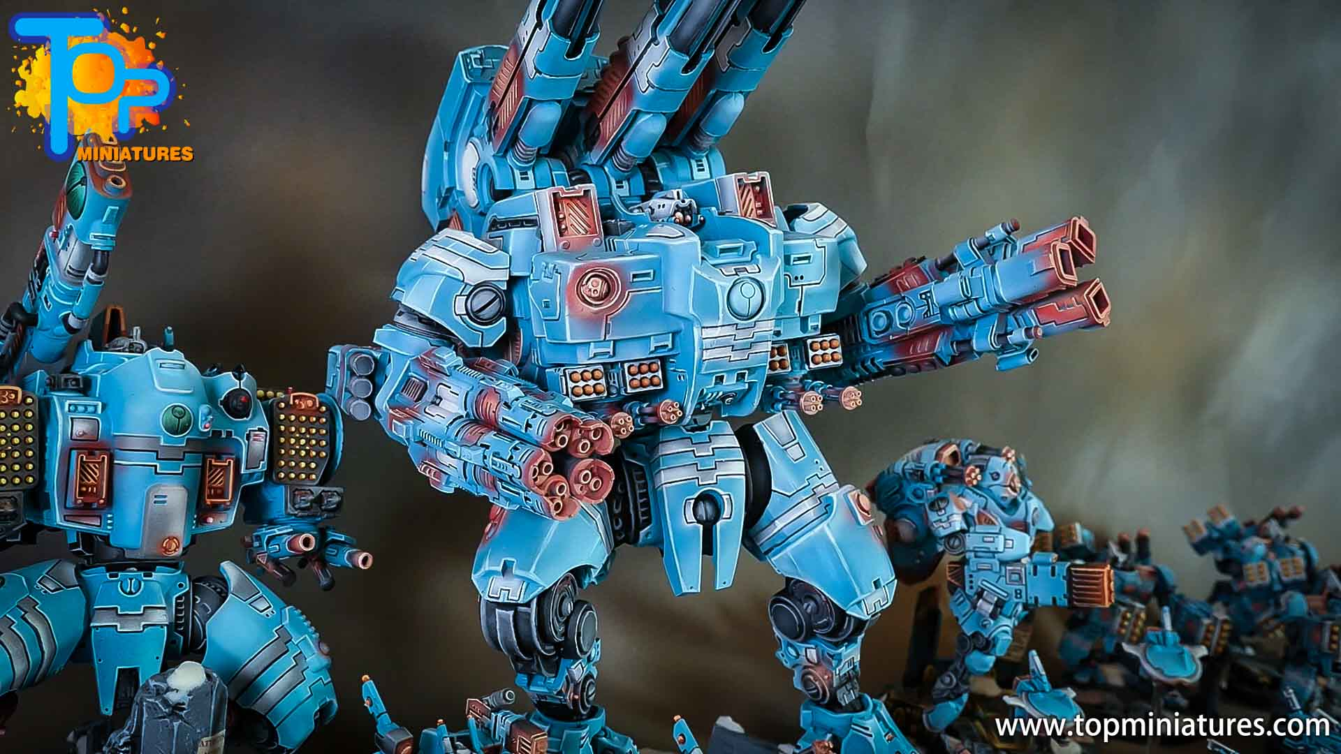 blue KX139 Ta'unar Supremacy Armour (5)