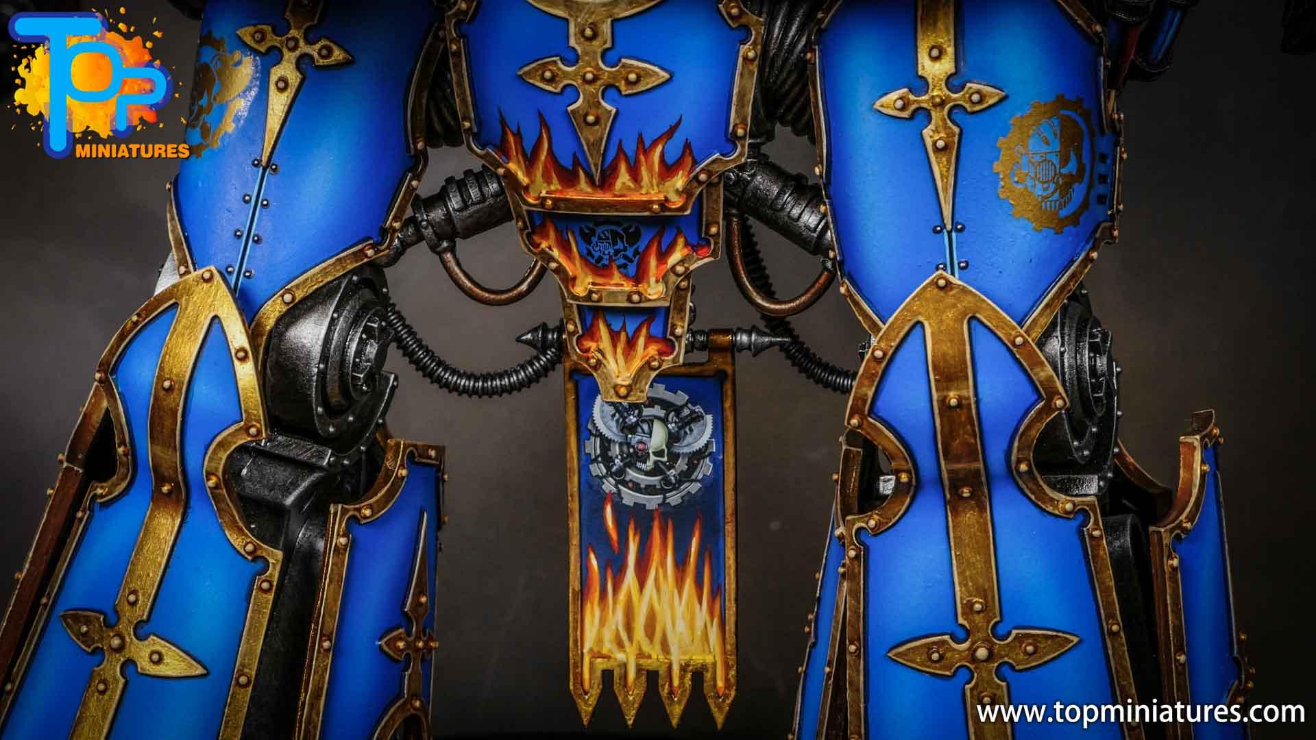 blue painted acastus knight porphyrion (3)