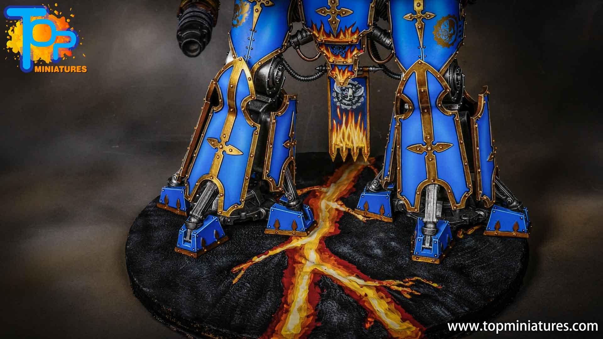 blue painted acastus knight porphyrion (4)