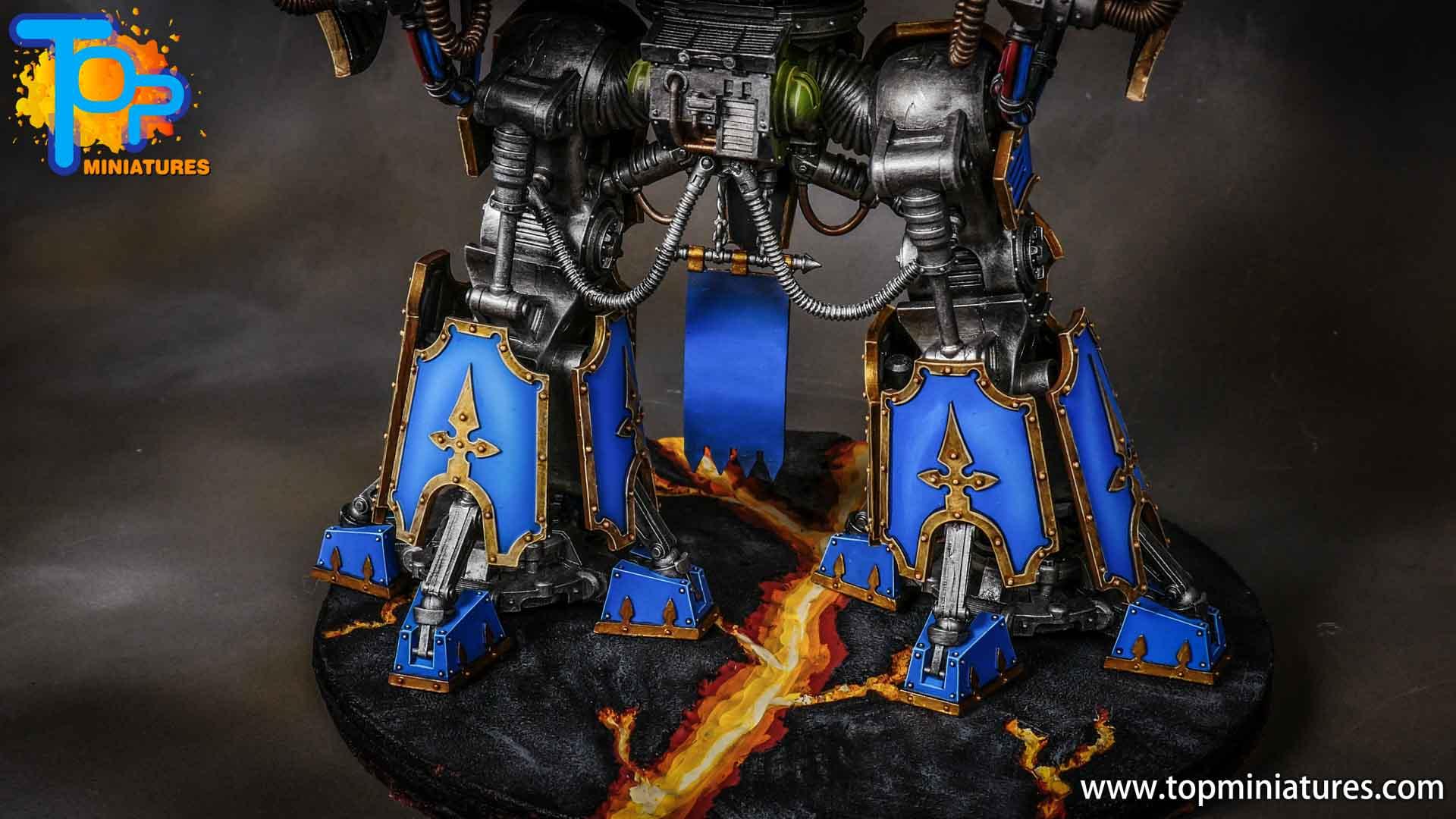 blue painted acastus knight porphyrion (9)