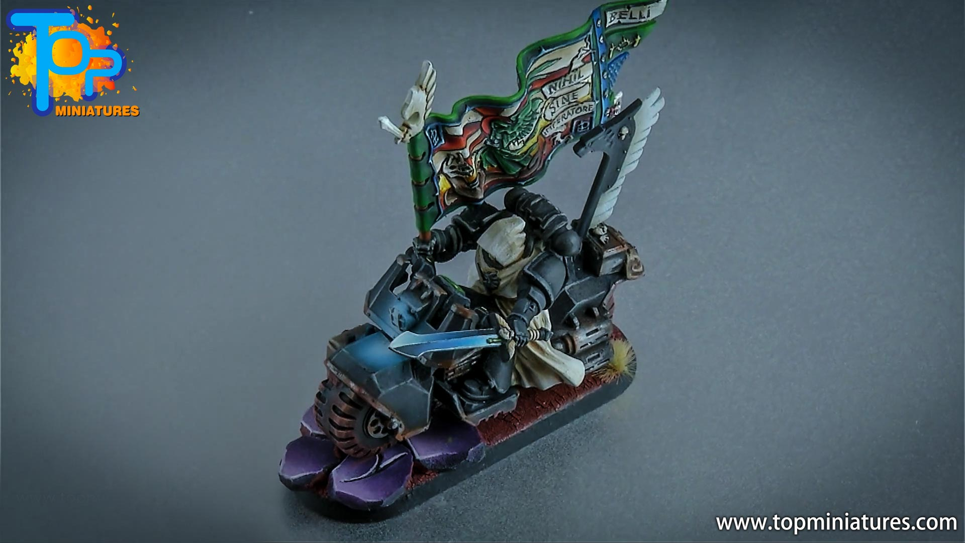 dark angels ravenwing command bike (1)