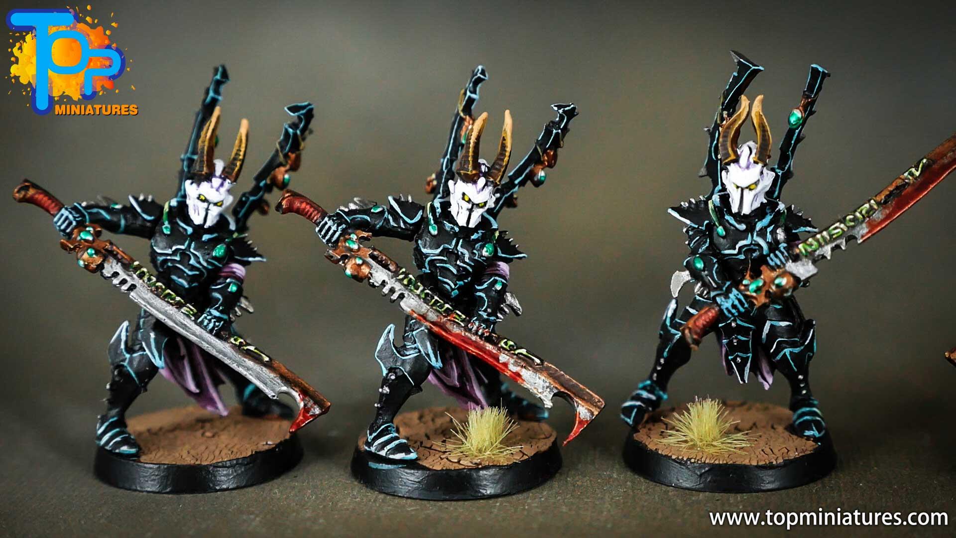 dark eldar drukhari painted incubi (2)
