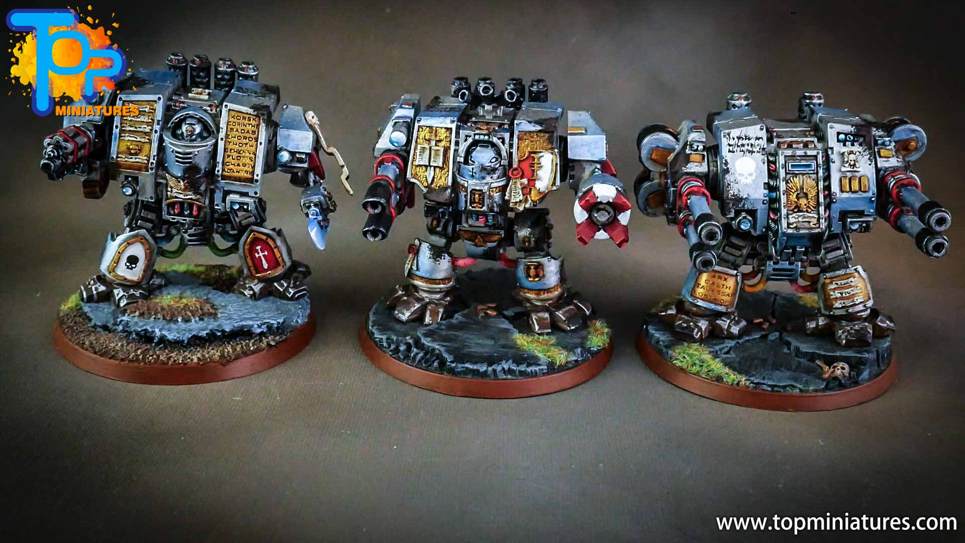 grey knights painted dreadnoughts (2)